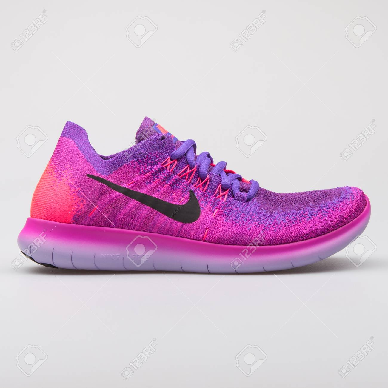 the latest 9ef75 8c4fe VIENNA, AUSTRIA - AUGUST 7, 2017: Nike Free RN Flyknit 2017 pink..
