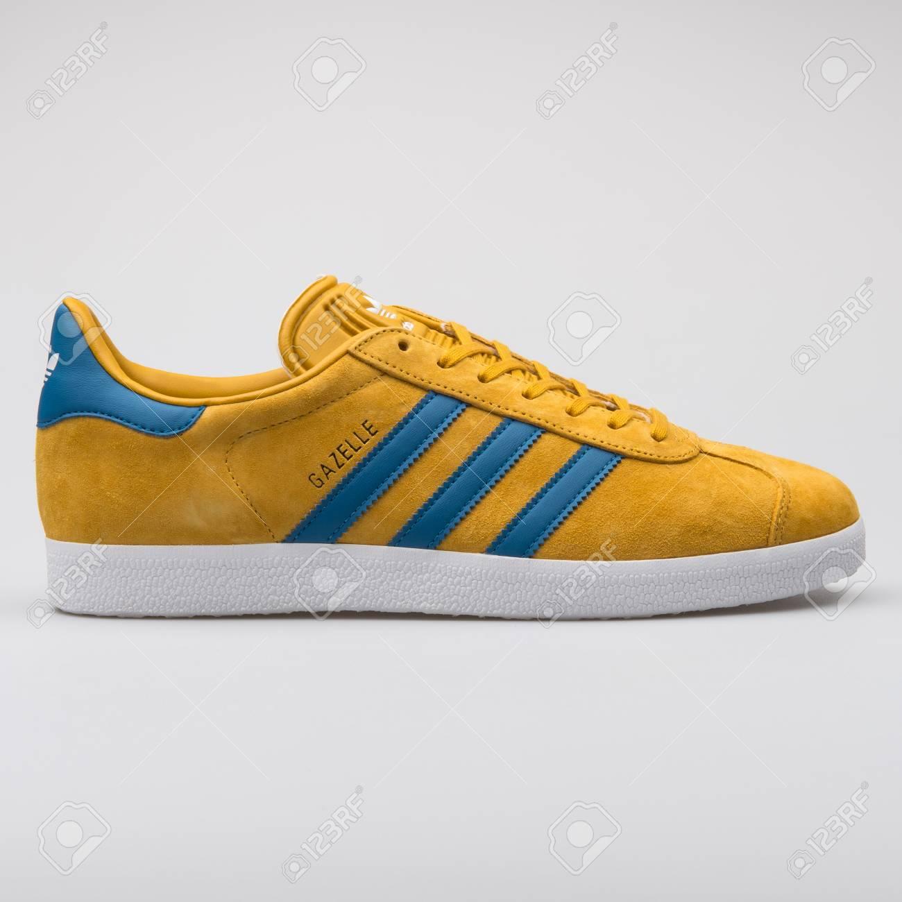 Adidas Gazelle Yellow And Blue.. Stock