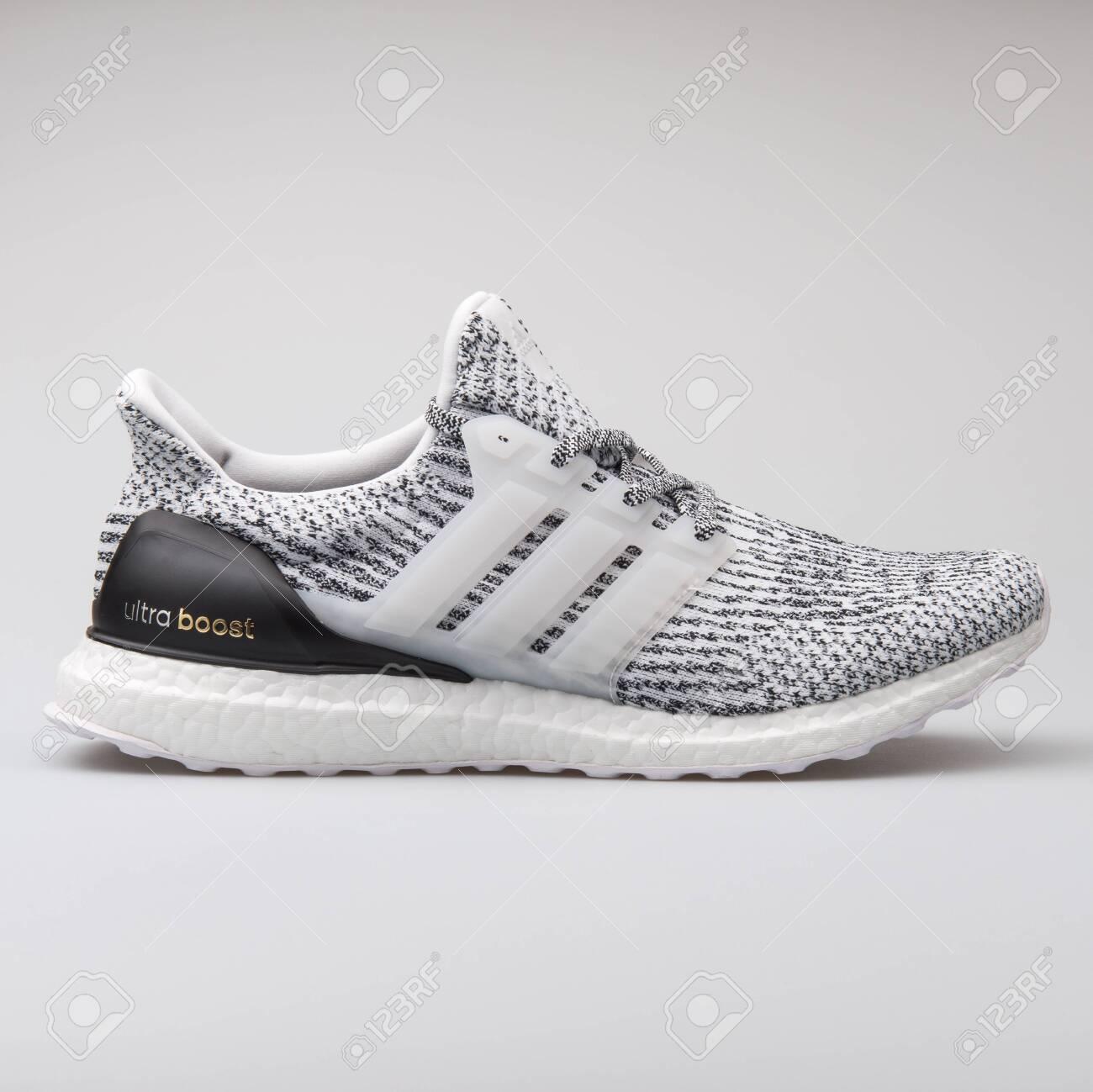 nouveaux styles 4c34c c0ed2 VIENNA, AUSTRIA - AUGUST 7, 2017: Adidas Ultraboost white and..