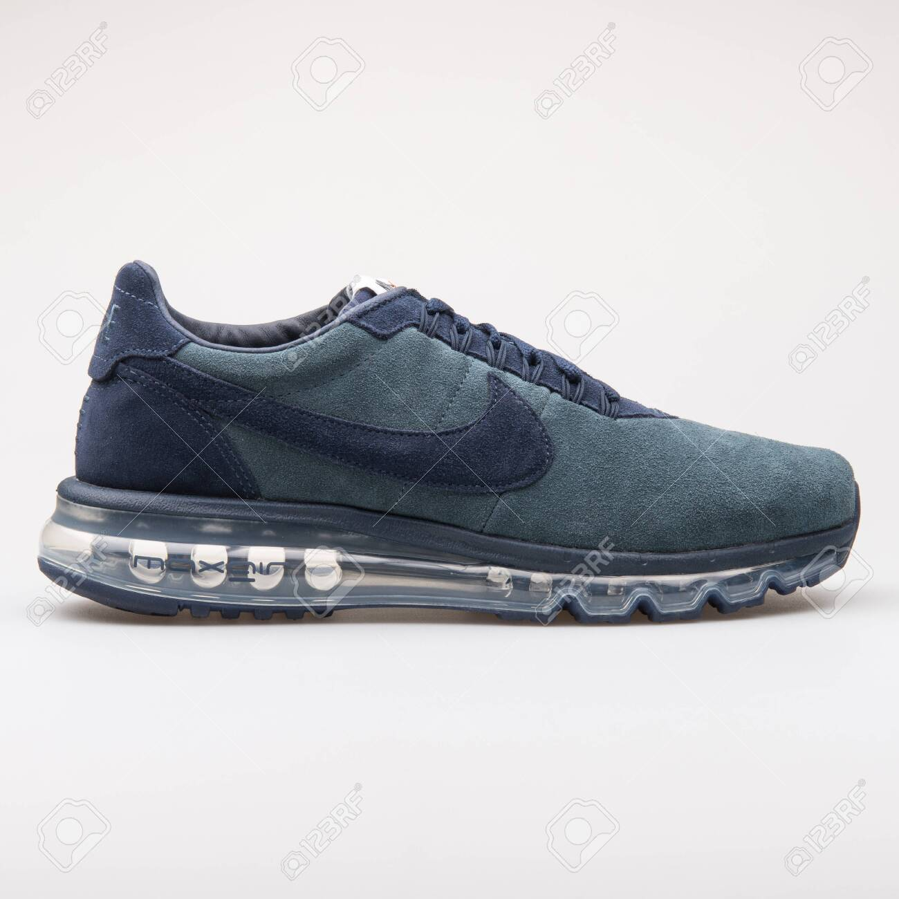 presentar Descompostura melodía  VIENNA, AUSTRIA - AUGUST 23, 2017: Nike Air Max LD Zero Blue.. Stock Photo,  Picture And Royalty Free Image. Image 127883667.