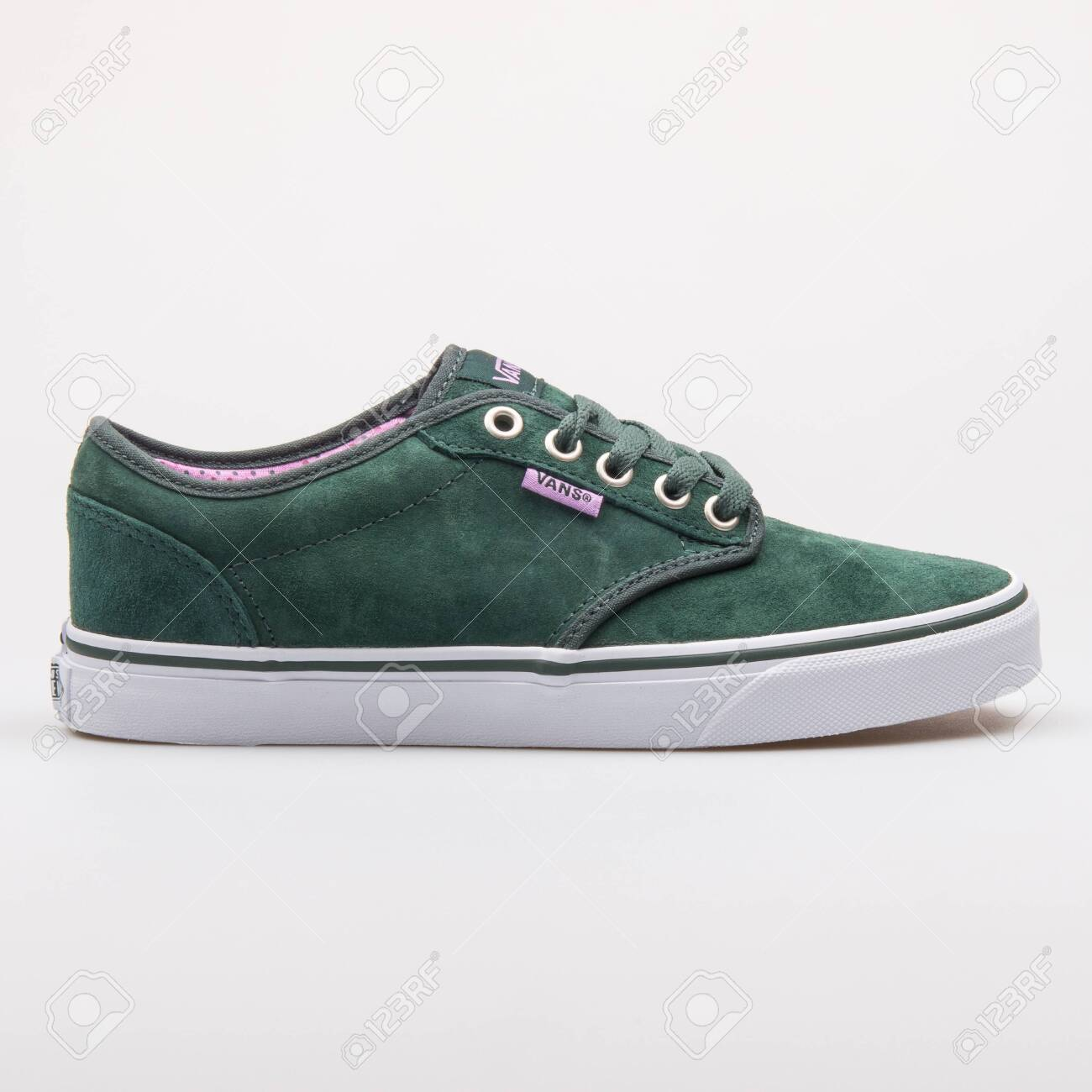 Vans Atwood Green Sneaker Isolated
