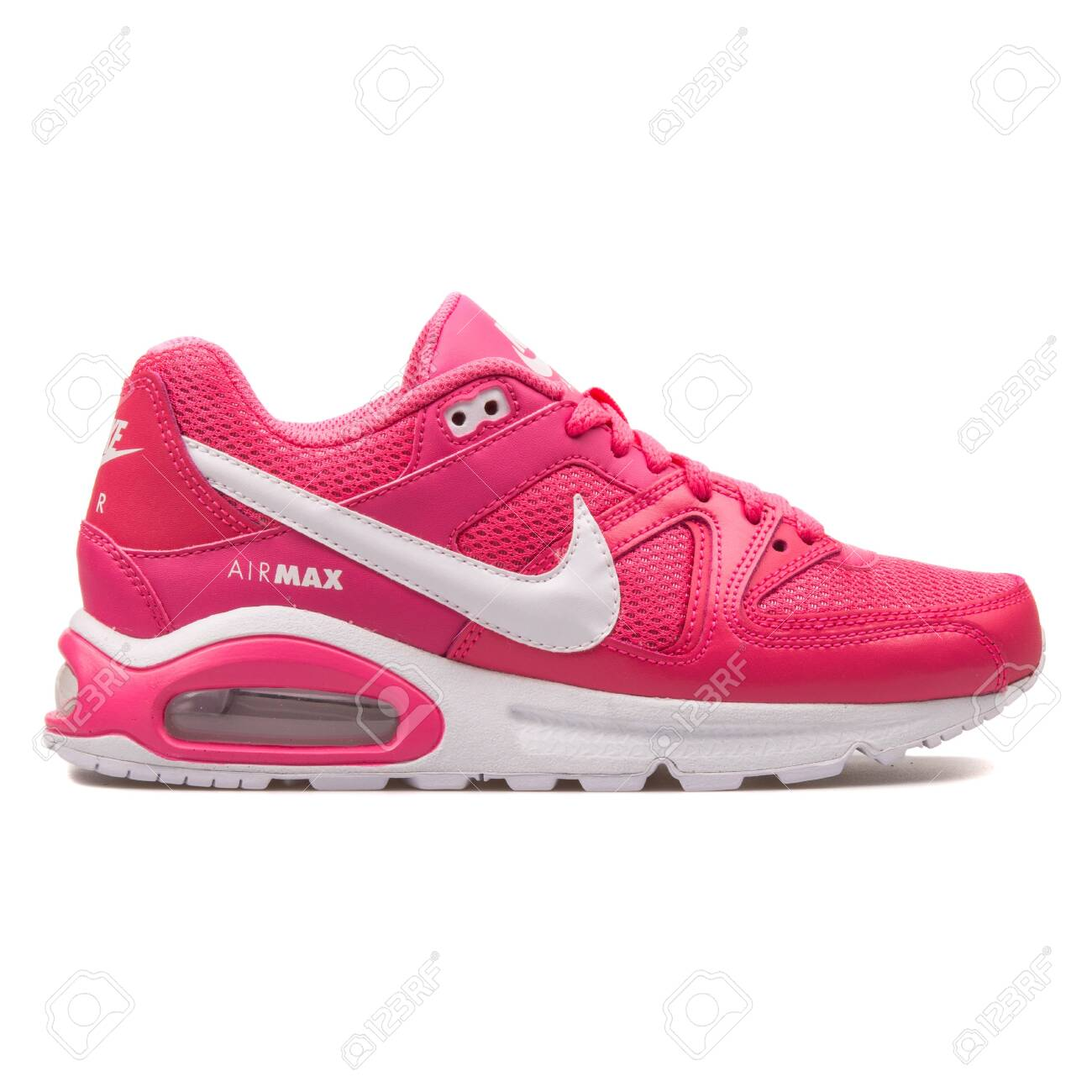 Nike Air Max Command Pink.. Stock Photo