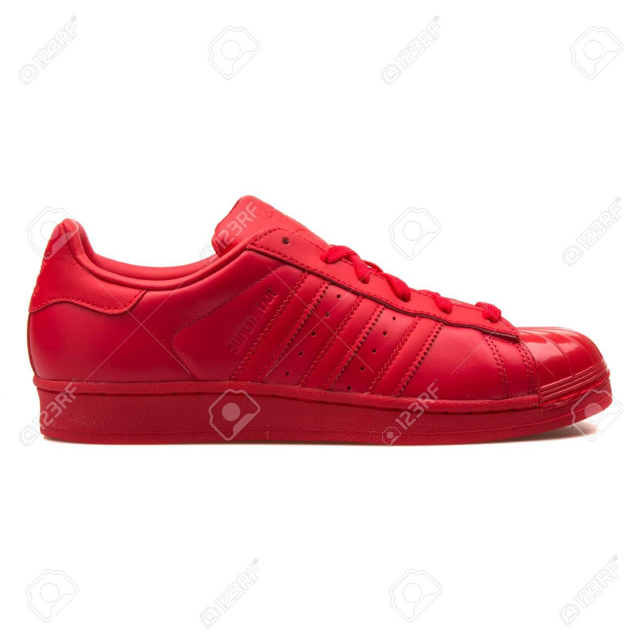 size 40 71ae5 16265 VIENNA, AUSTRIA - AUGUST 30, 2017: Adidas Superstar Glossy Toe..