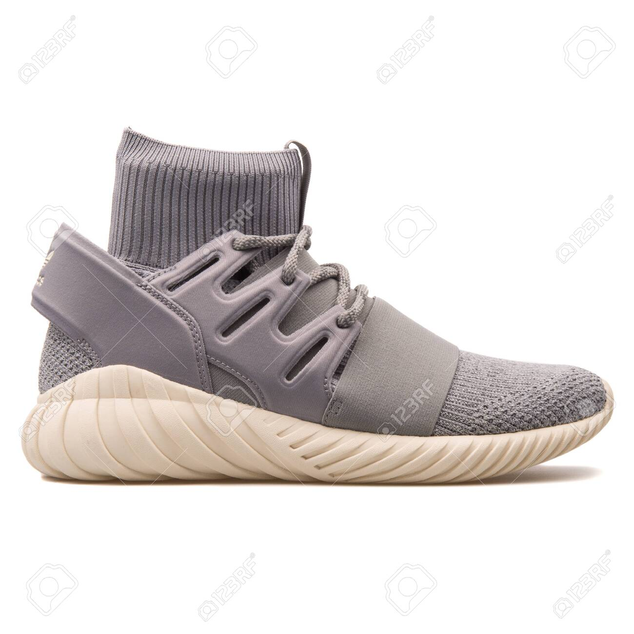 best website 7d167 e0227 VIENNA, AUSTRIA - AUGUST 10, 2017: Adidas Tubular Doom PK grey..
