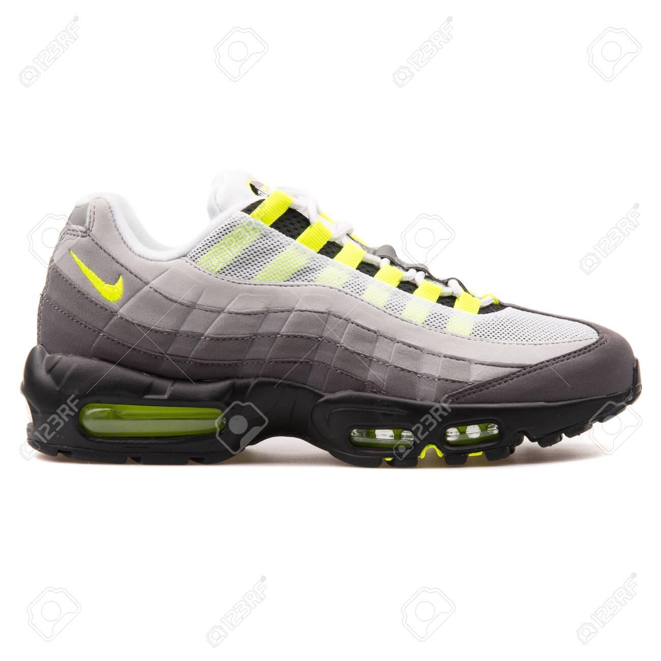 best value 3ab77 831c5 VIENNA, AUSTRIA - AUGUST 25, 2017: Nike Air Max 95 OG grey, black..
