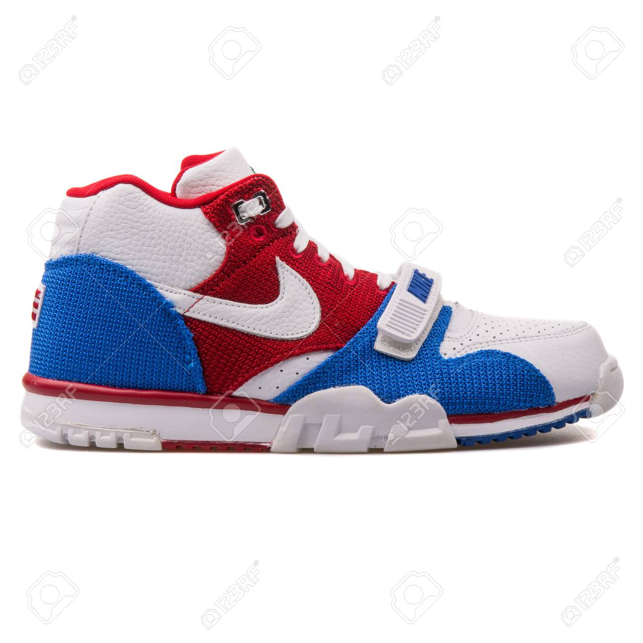 the best new high sneakers for cheap VIENNA, AUSTRIA - AUGUST 25, 2017: Nike Air Trainer 1 Mid Premium..
