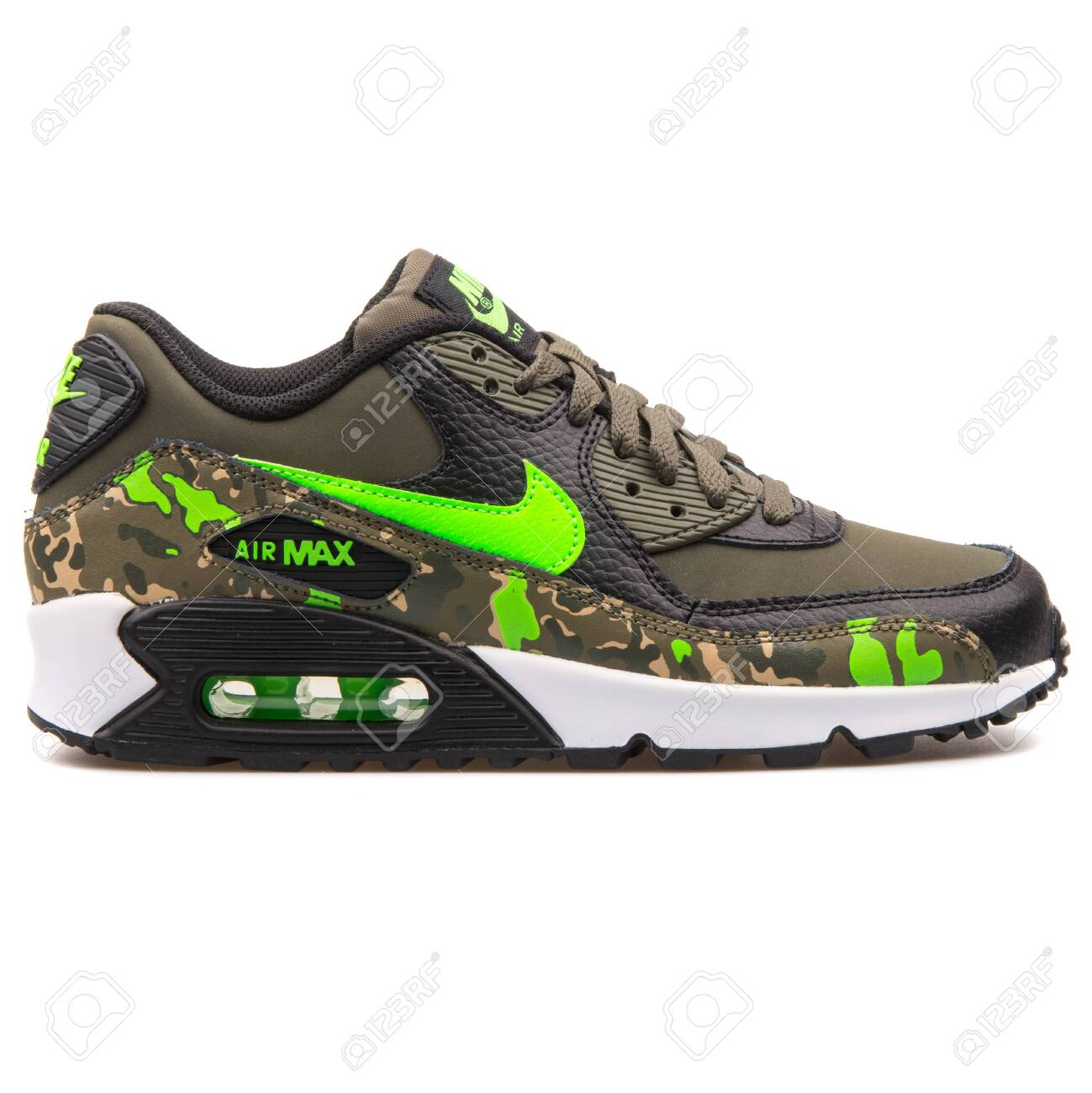 buy popular 0e57a 2a27c VIENNA, AUSTRIA - AUGUST 25, 2017: Nike Air Max 90 Premium Leather..