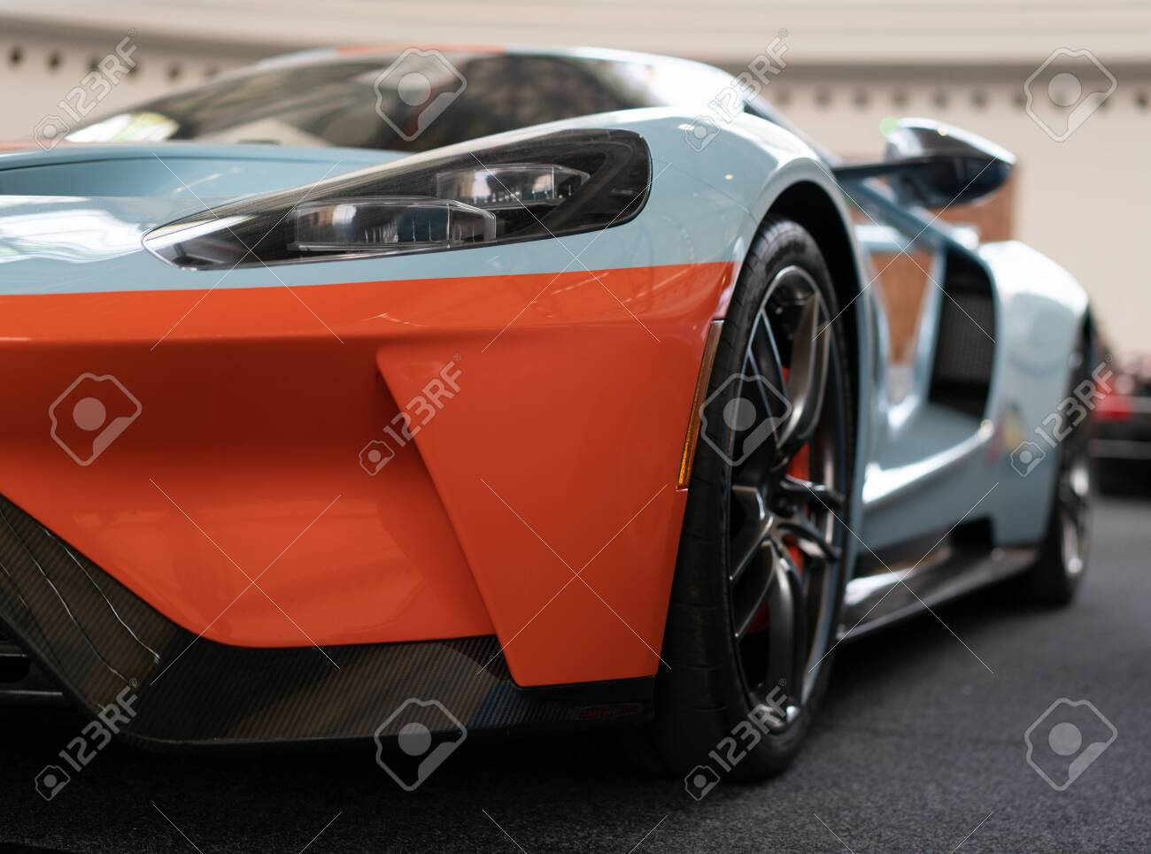 Prague Czech Republic 16 5 2019 Ford Gt 40 At Car Show Stock Photo Picture And Royalty Free Image Image 136919848