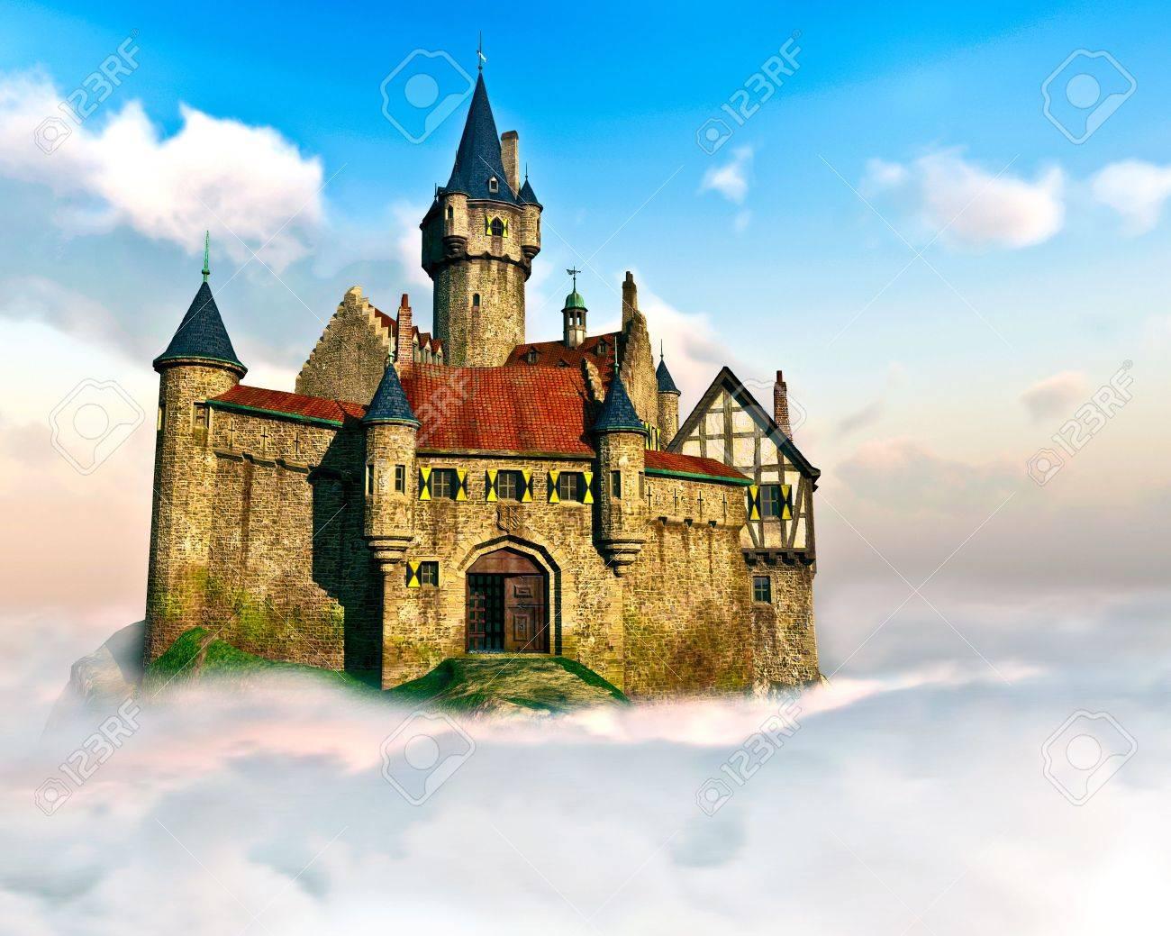 Un Chateau Dans Les Nuages castle in the clouds