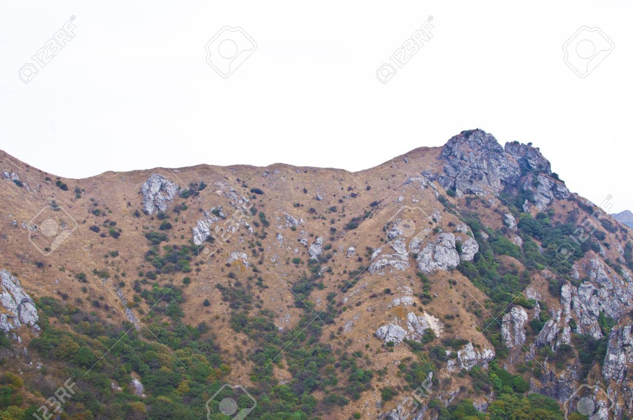 mountainside of the high mountain at Guangdong ridge of china Stock Photo - 16952694