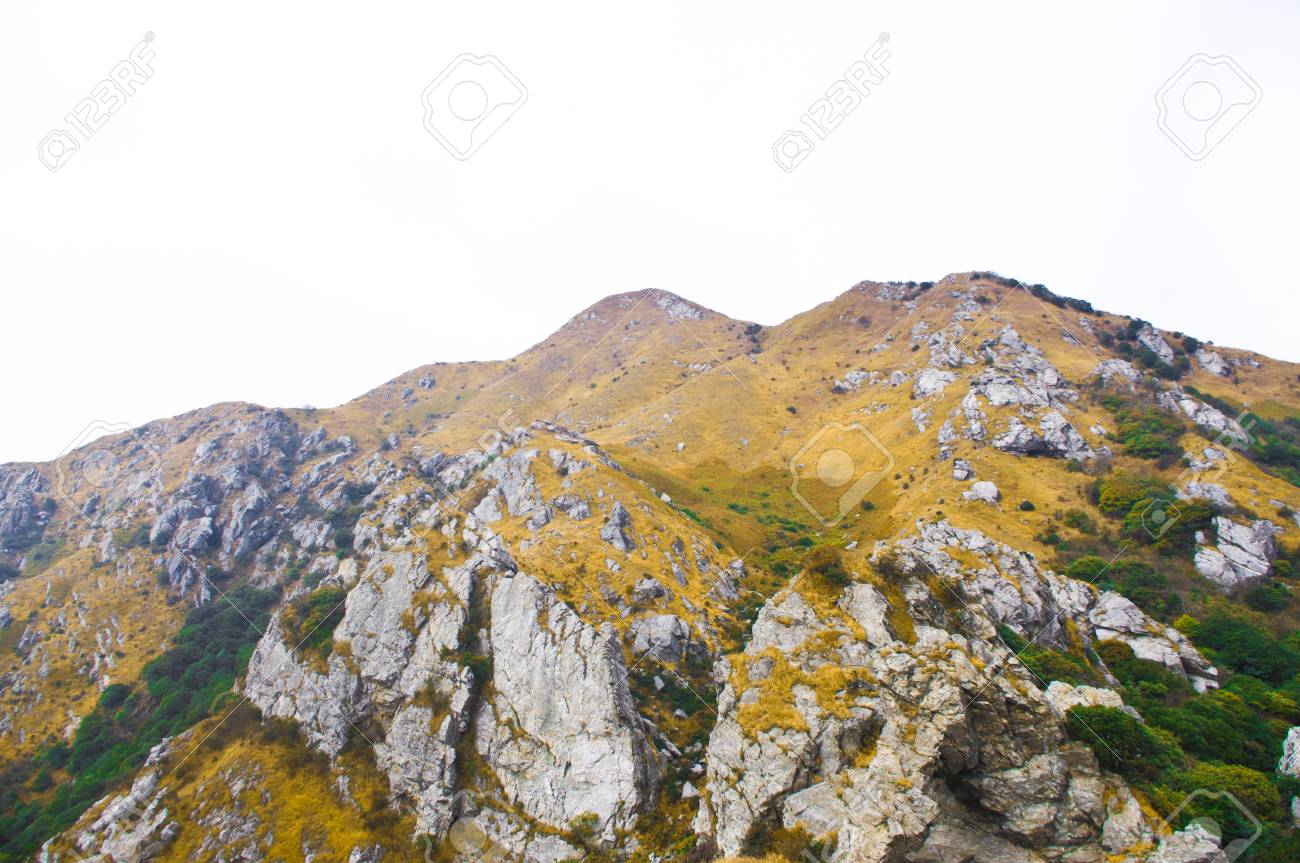mountainside of the high mountain at Guangdong ridge of china Stock Photo - 16952537
