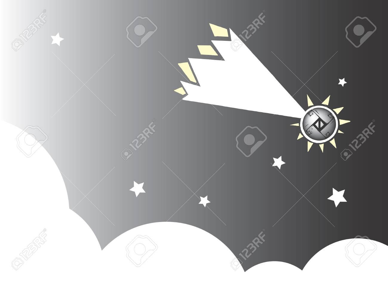 Meteor #2 Stock Vector - 4792648