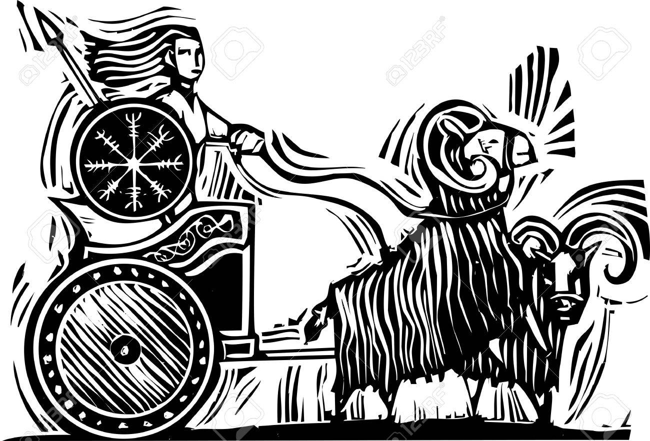 Image result for thor goat chariot