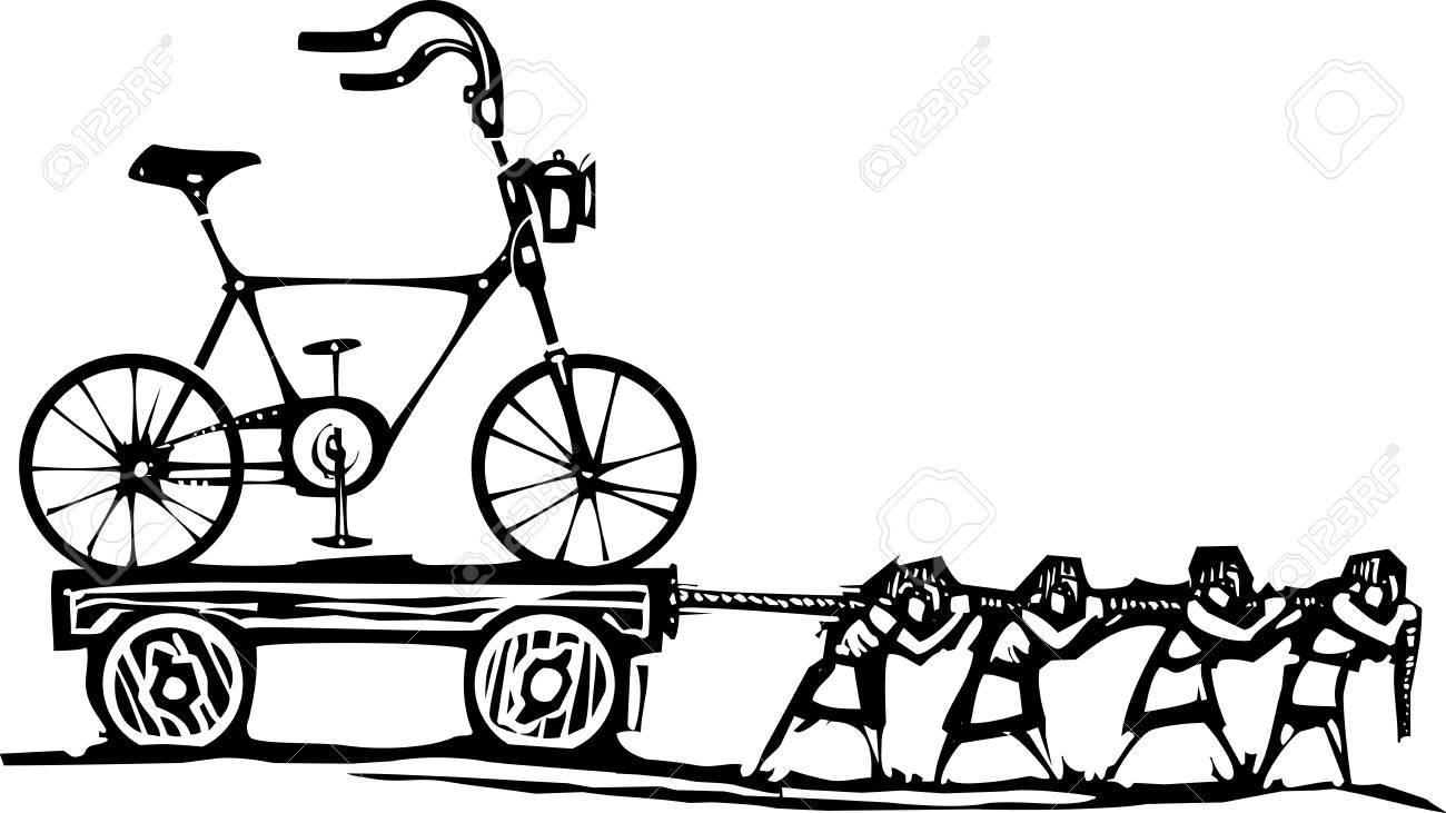 ワゴンで流行に敏感なバイクを運...
