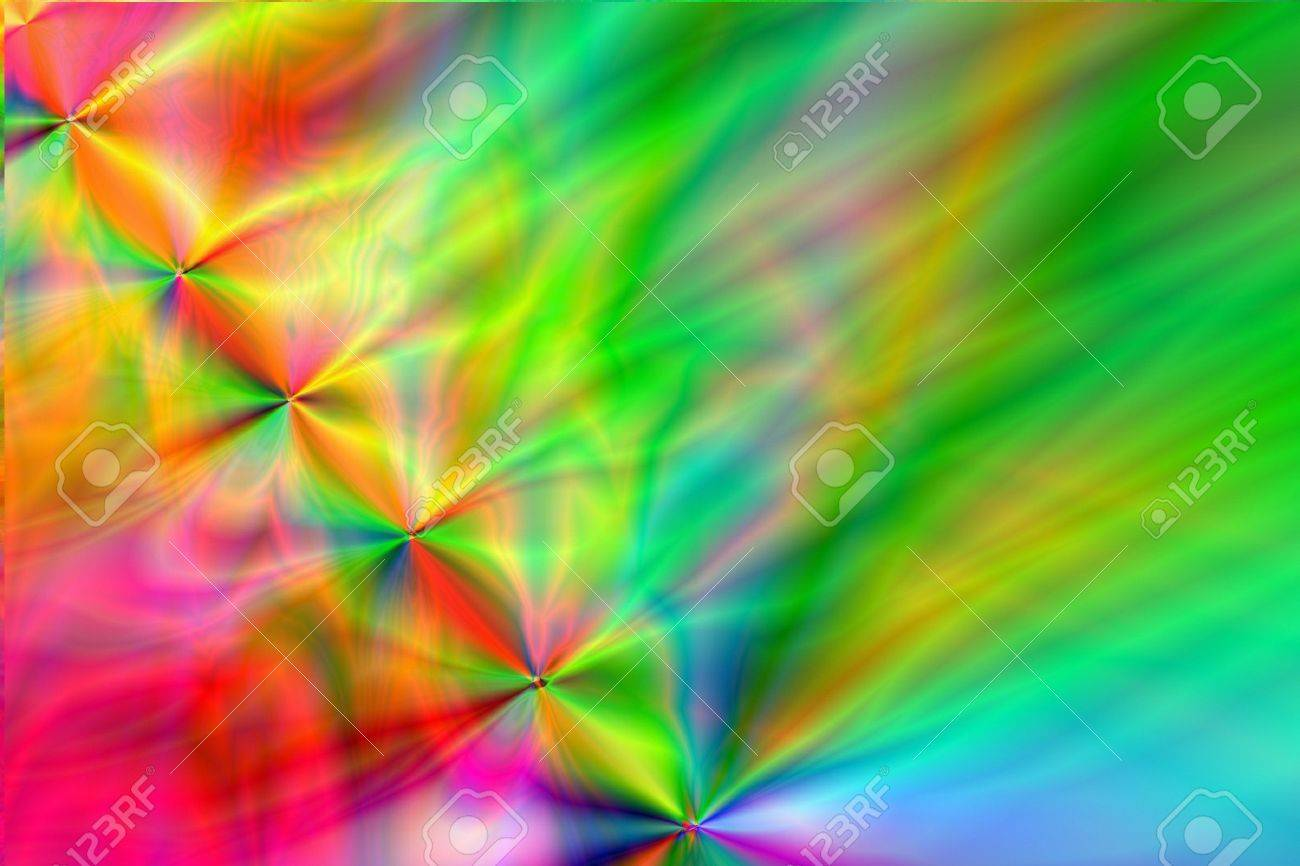 discovery of the beauty in the dance of colours � Grigor Dolyan Stock Photo - 2706120