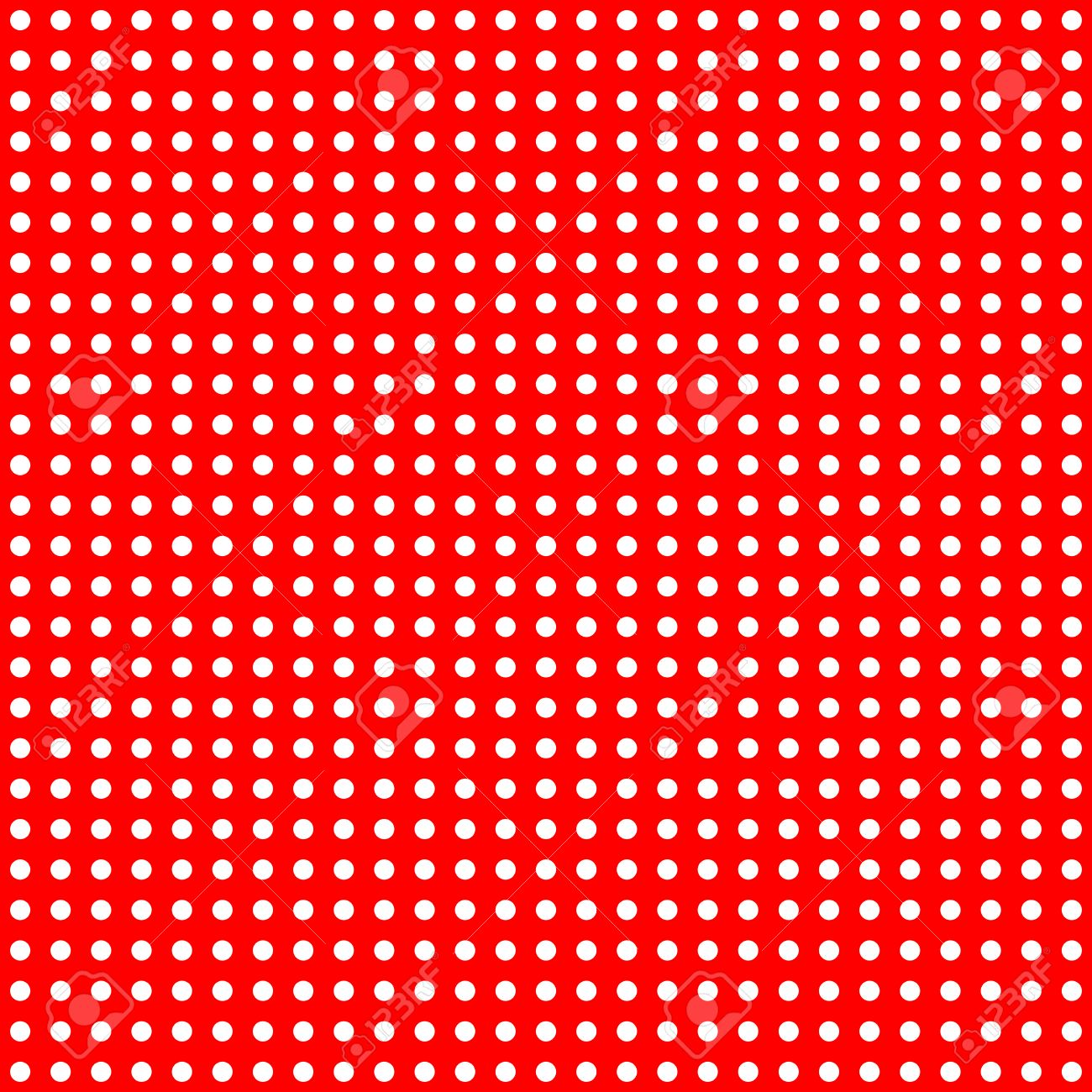 Fondo rojo puntos blanco