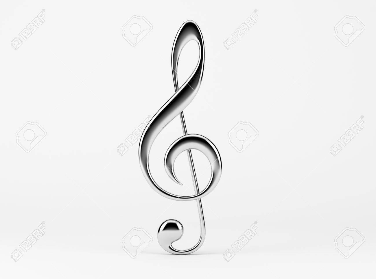 Note de musique Clé de sol