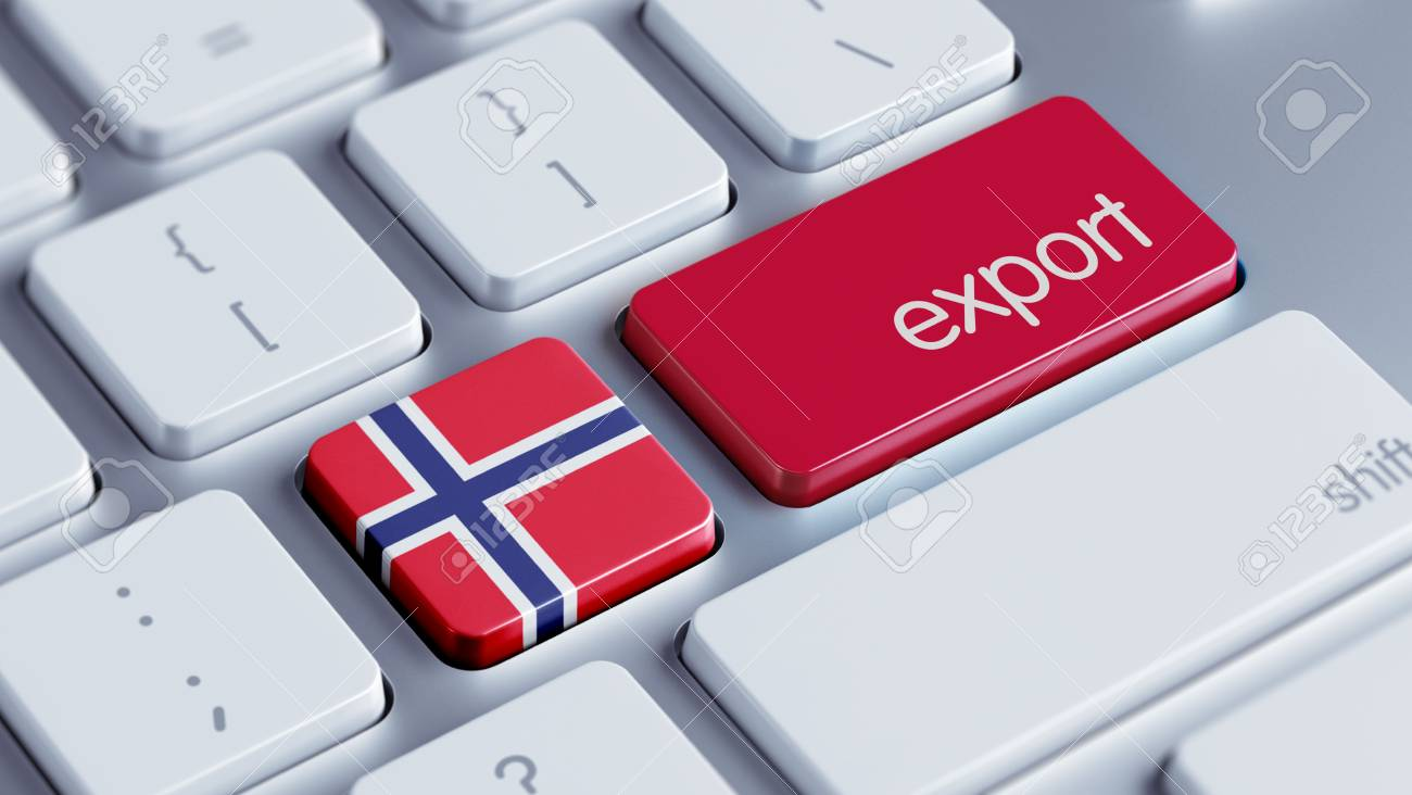 Norway High Resolution Export Concept Stock Photo - 28776663