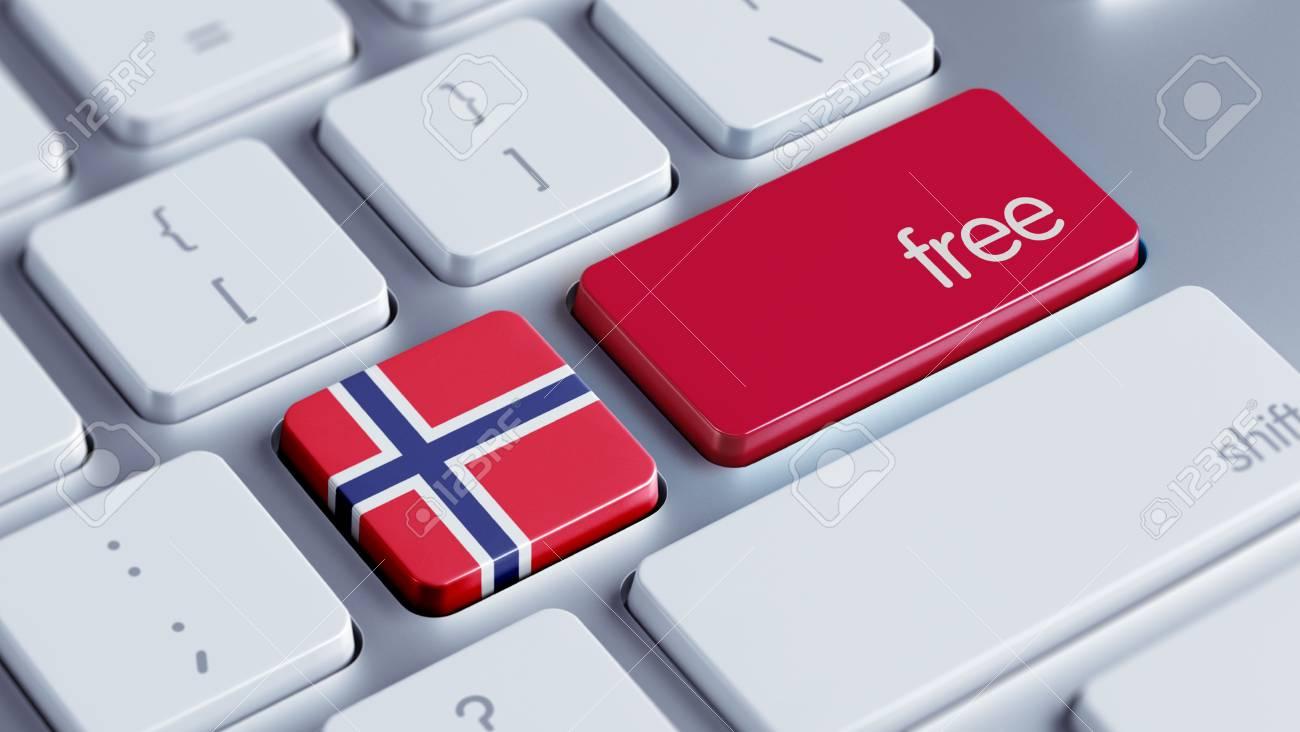 Norwegen Hohe Auflösung Kostenlose Konzept