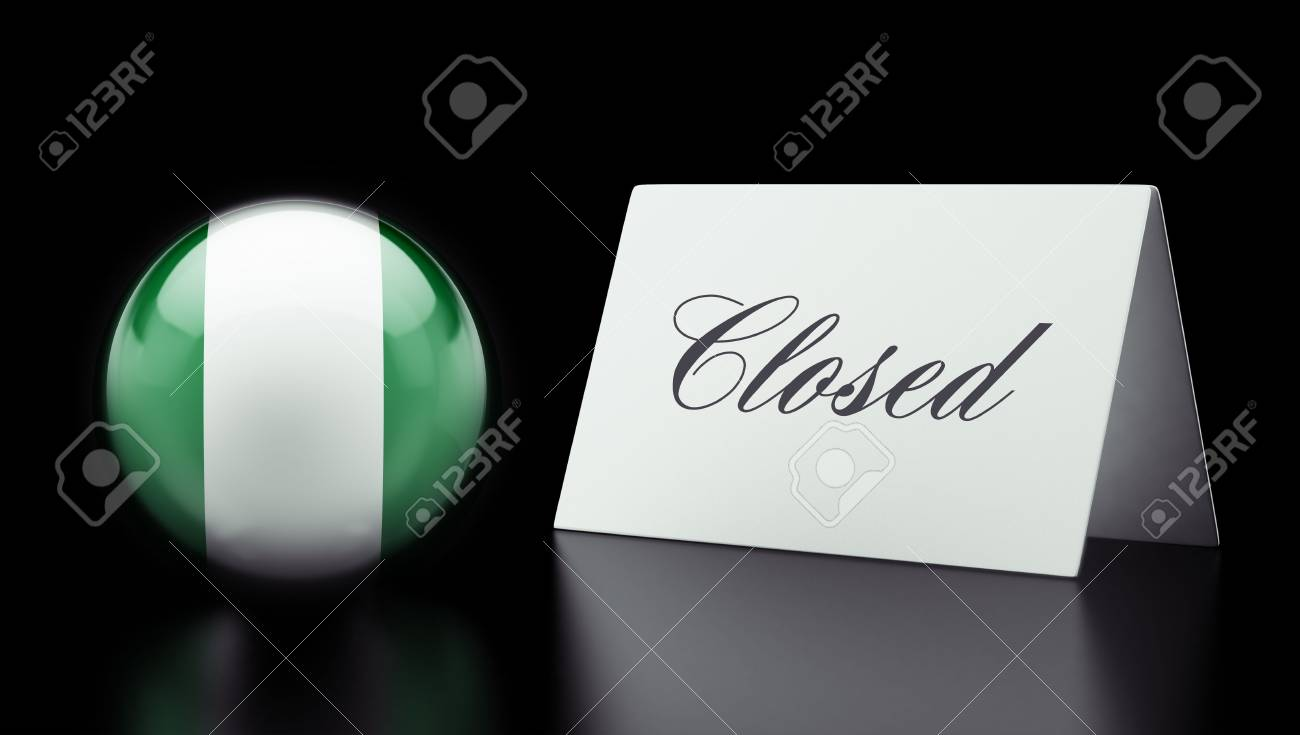 Nigeria  High Resolution Closed Concept Stock Photo - 28843175