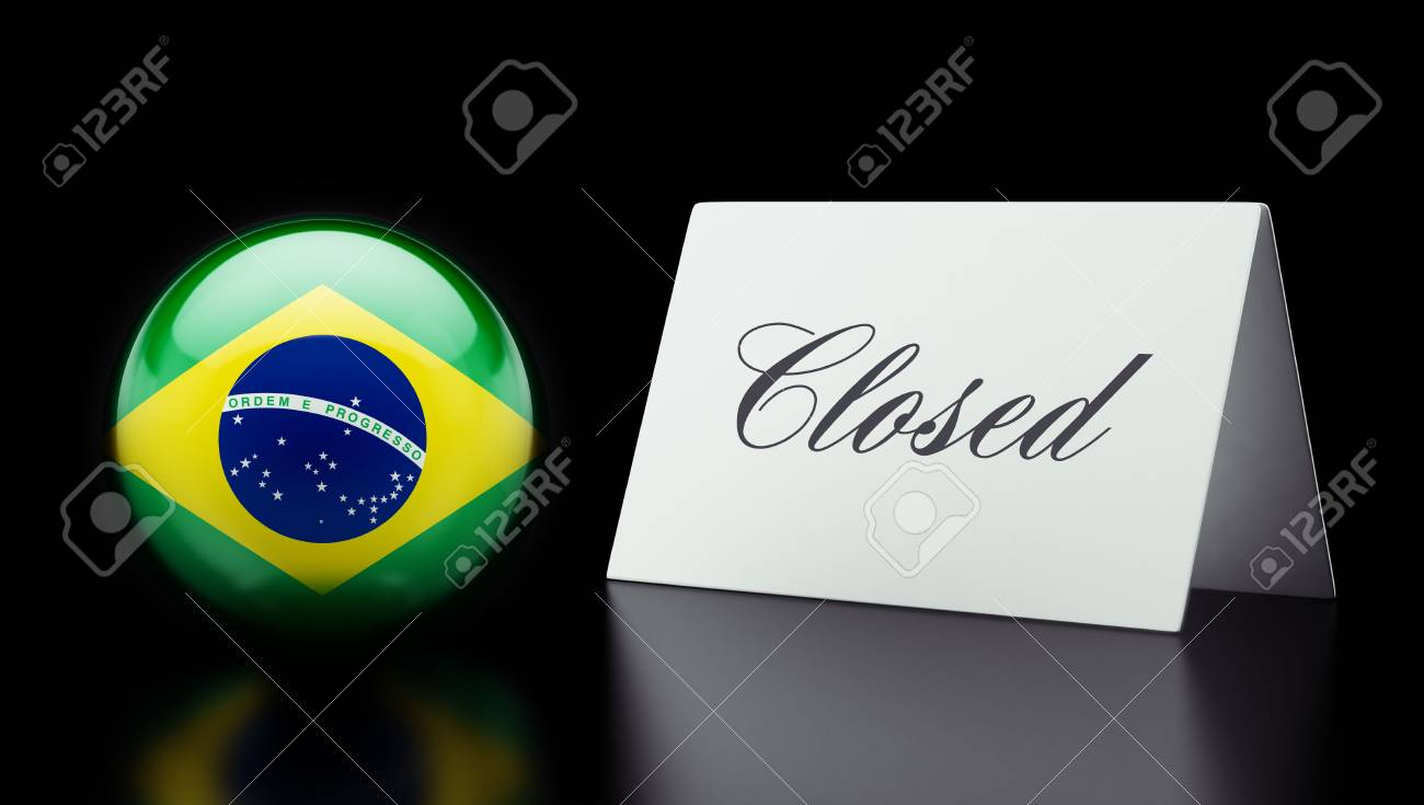 Brazil High Resolution Closed Concept Stock Photo - 28843228