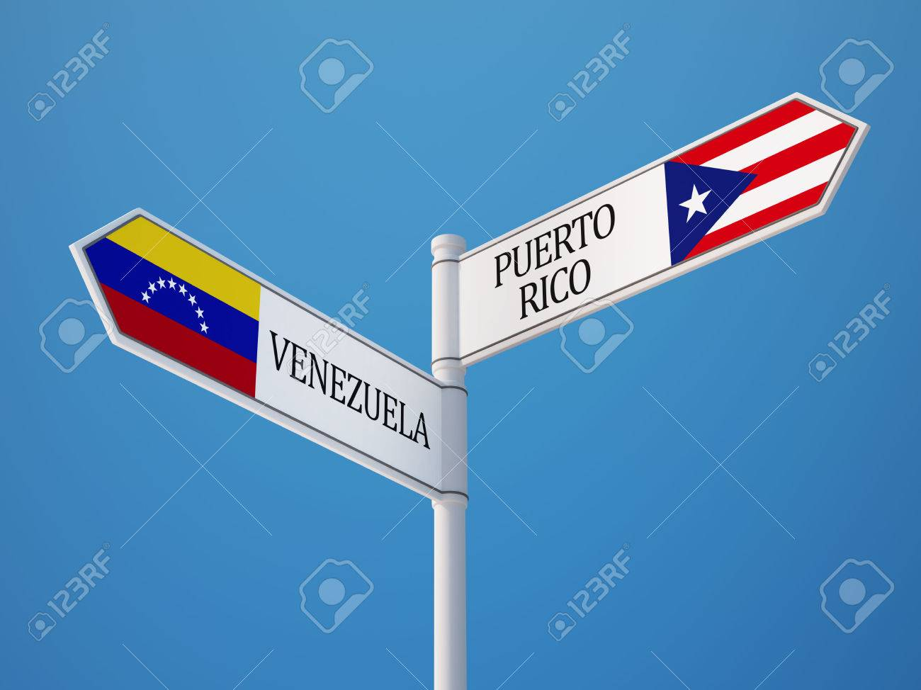 Image result for Puerto Rico and Venezuela