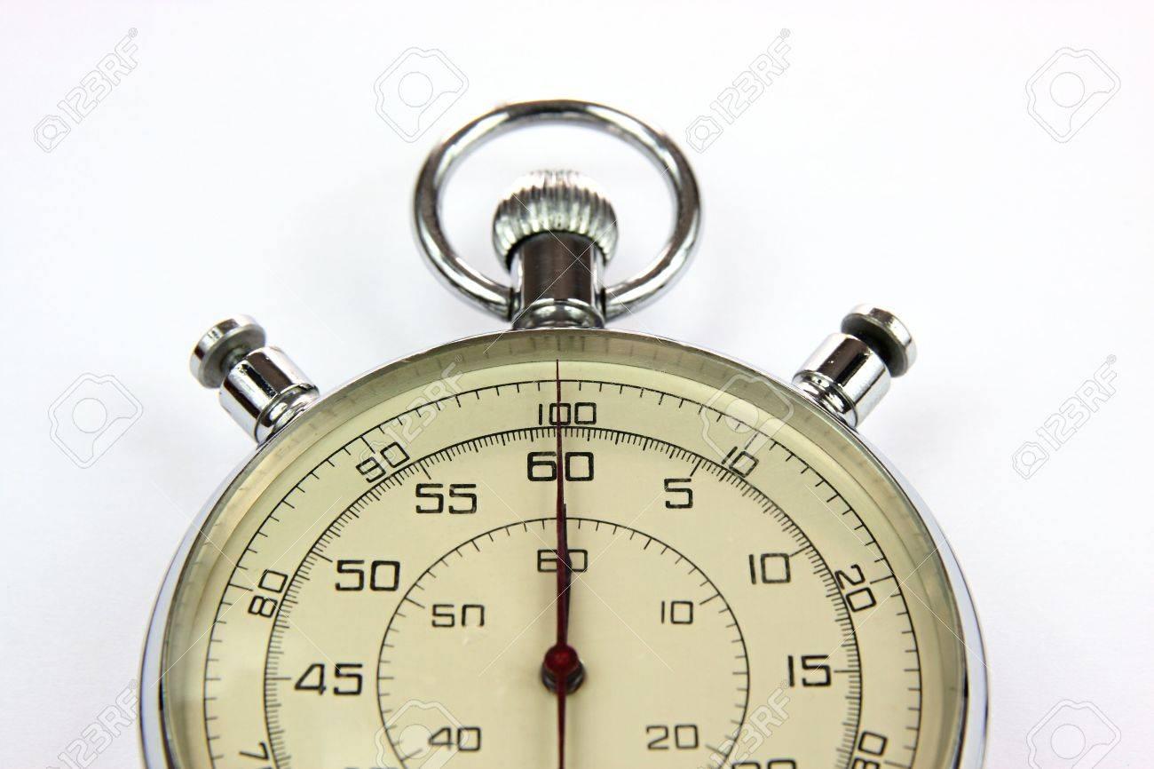 Analog stopwatch Stock Photo - 6366617