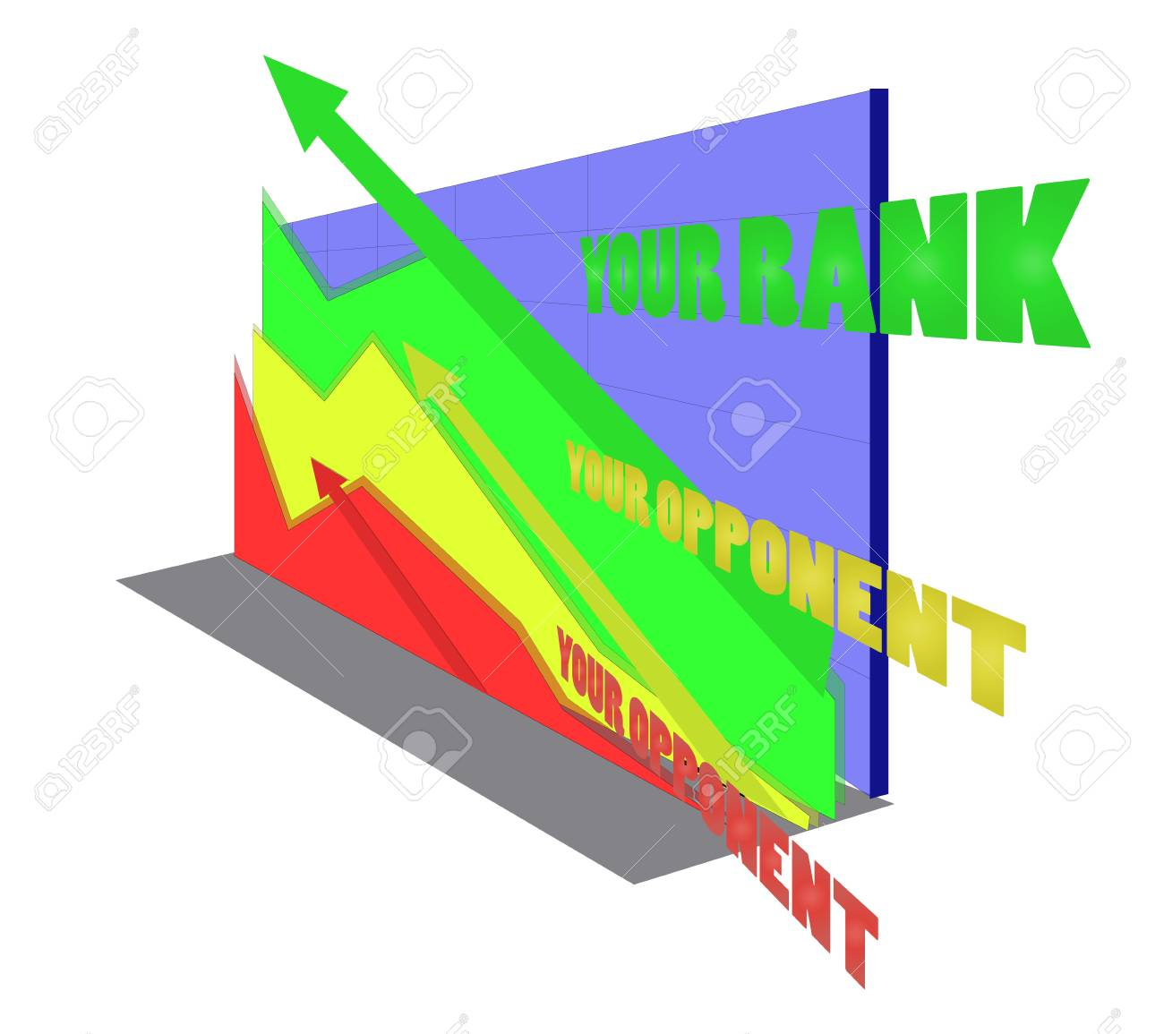Search Engine Rank Stock Vector - 16888802