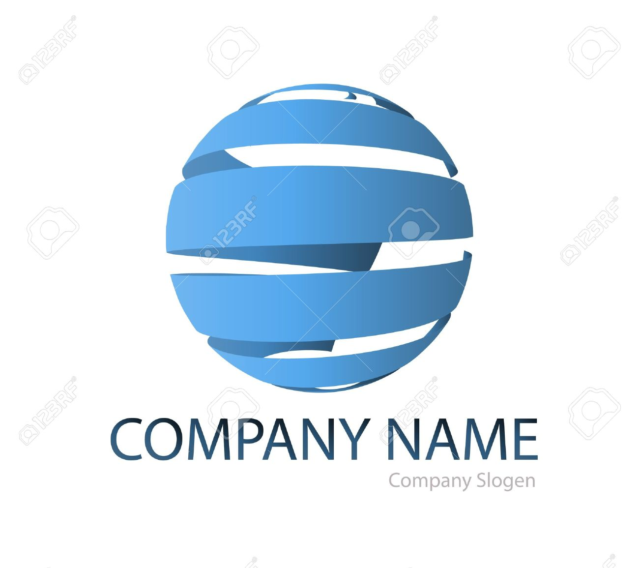 Business logo global graphic Stock Vector - 17575841