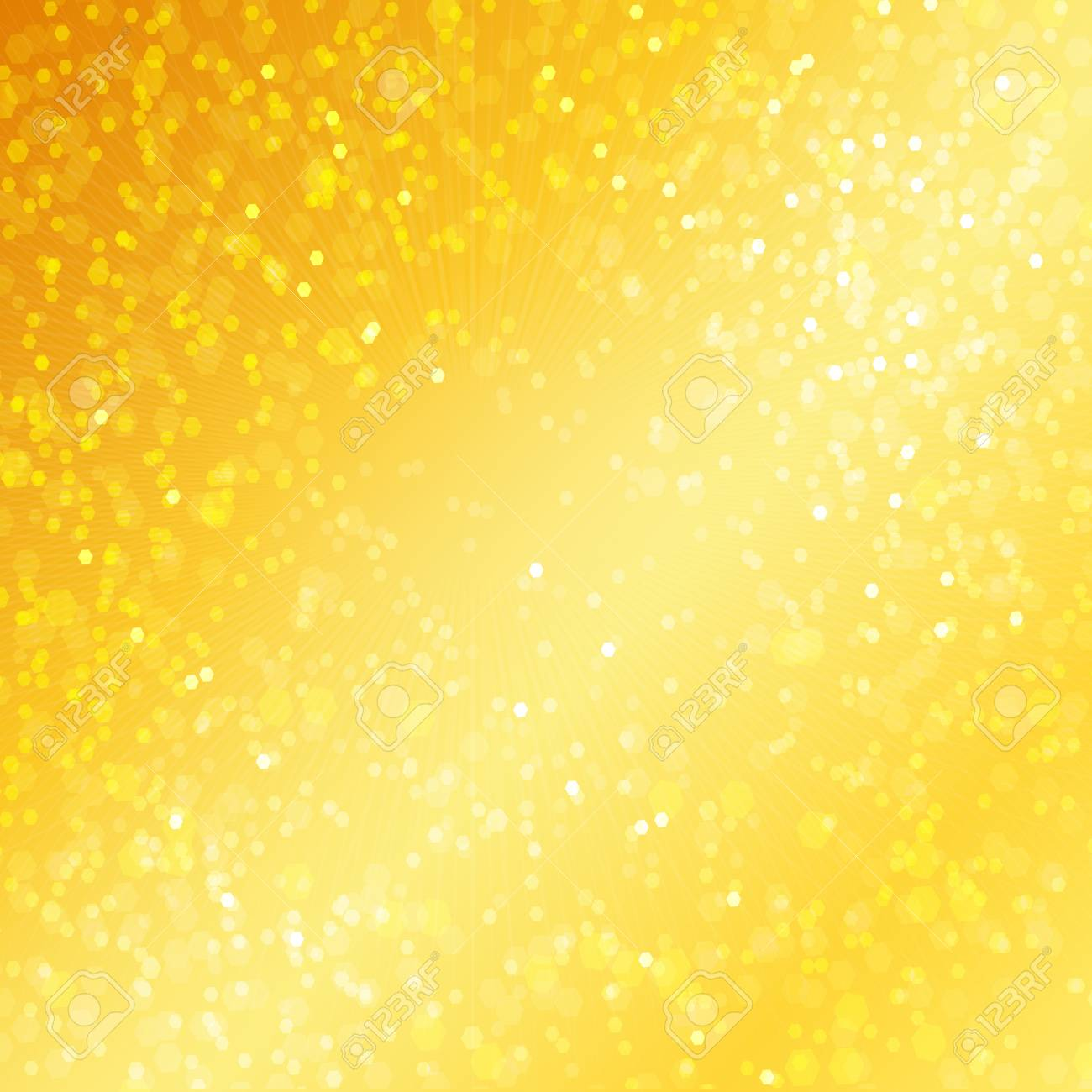 Golden background elegant abstract background with bokeh defocused lights Stock Photo - 19605826