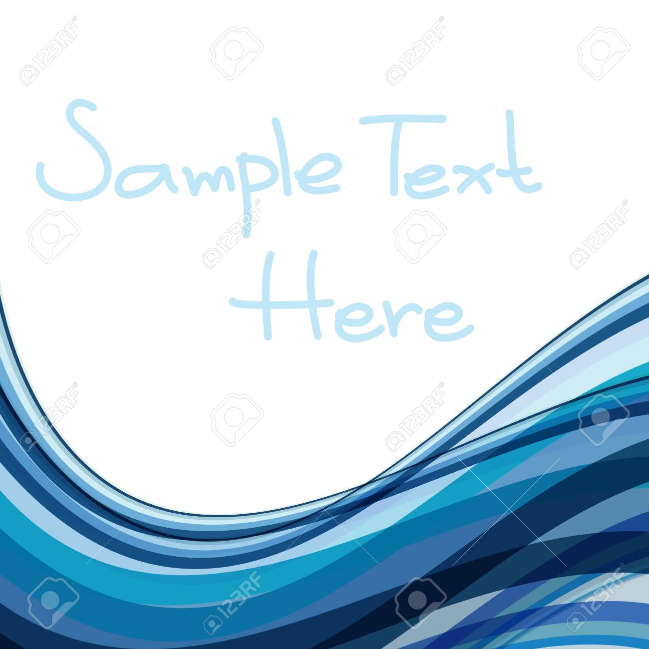 Abstract wave background Stock Vector - 20366288