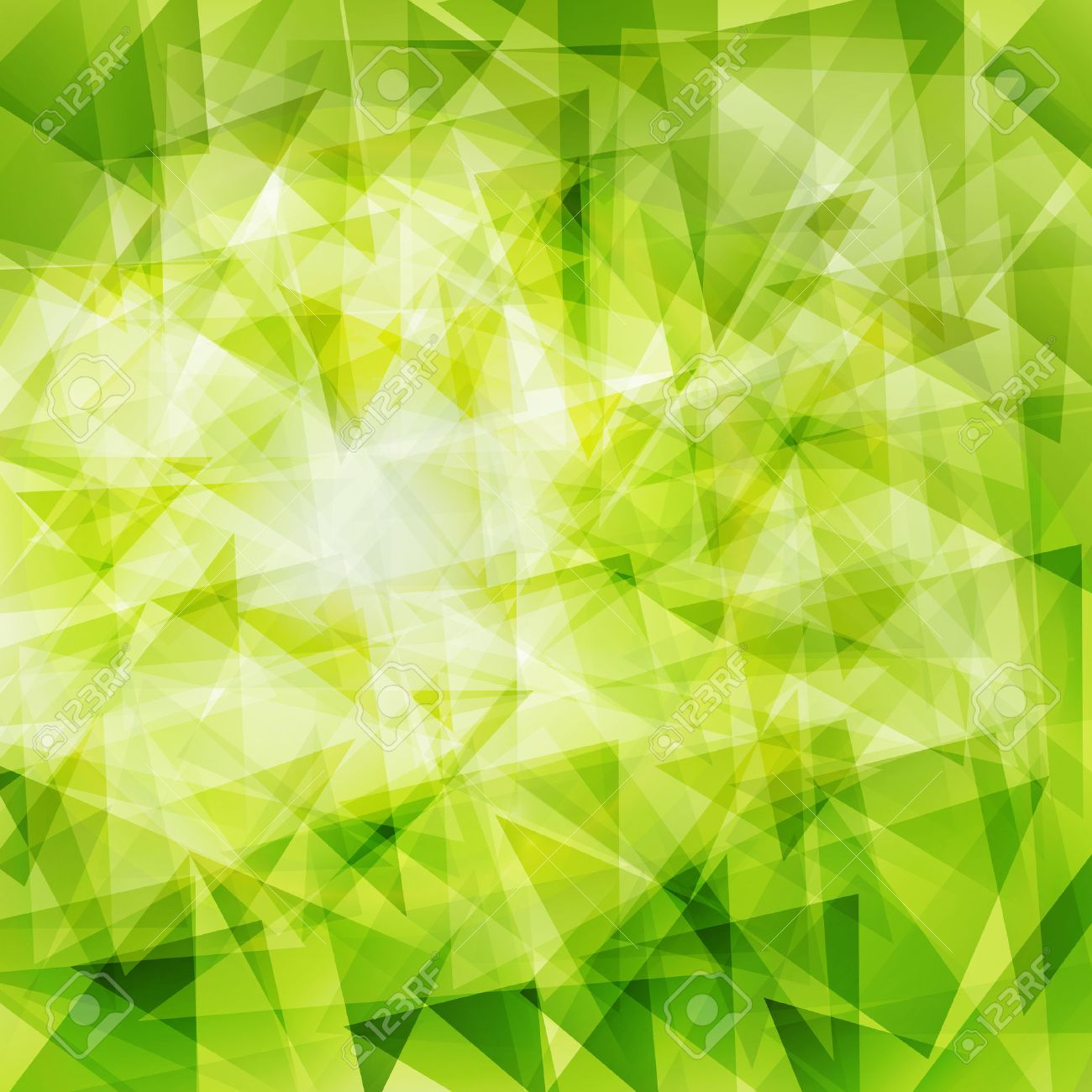 Green abstract geometrical background - 23119330