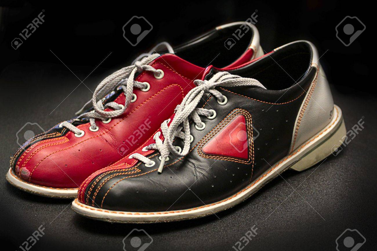 Old Bowling Shoes. Stock Photo, Picture And Royalty Free Image ...