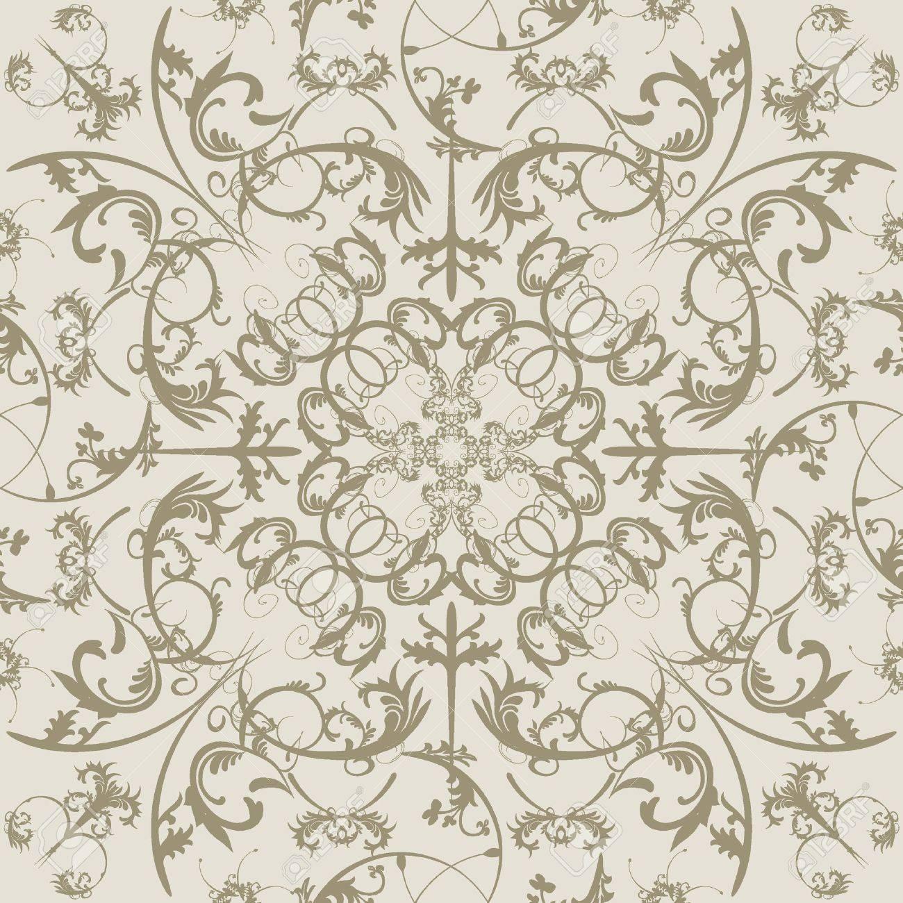 Swirls seamless pattern. Stock Vector - 5391515