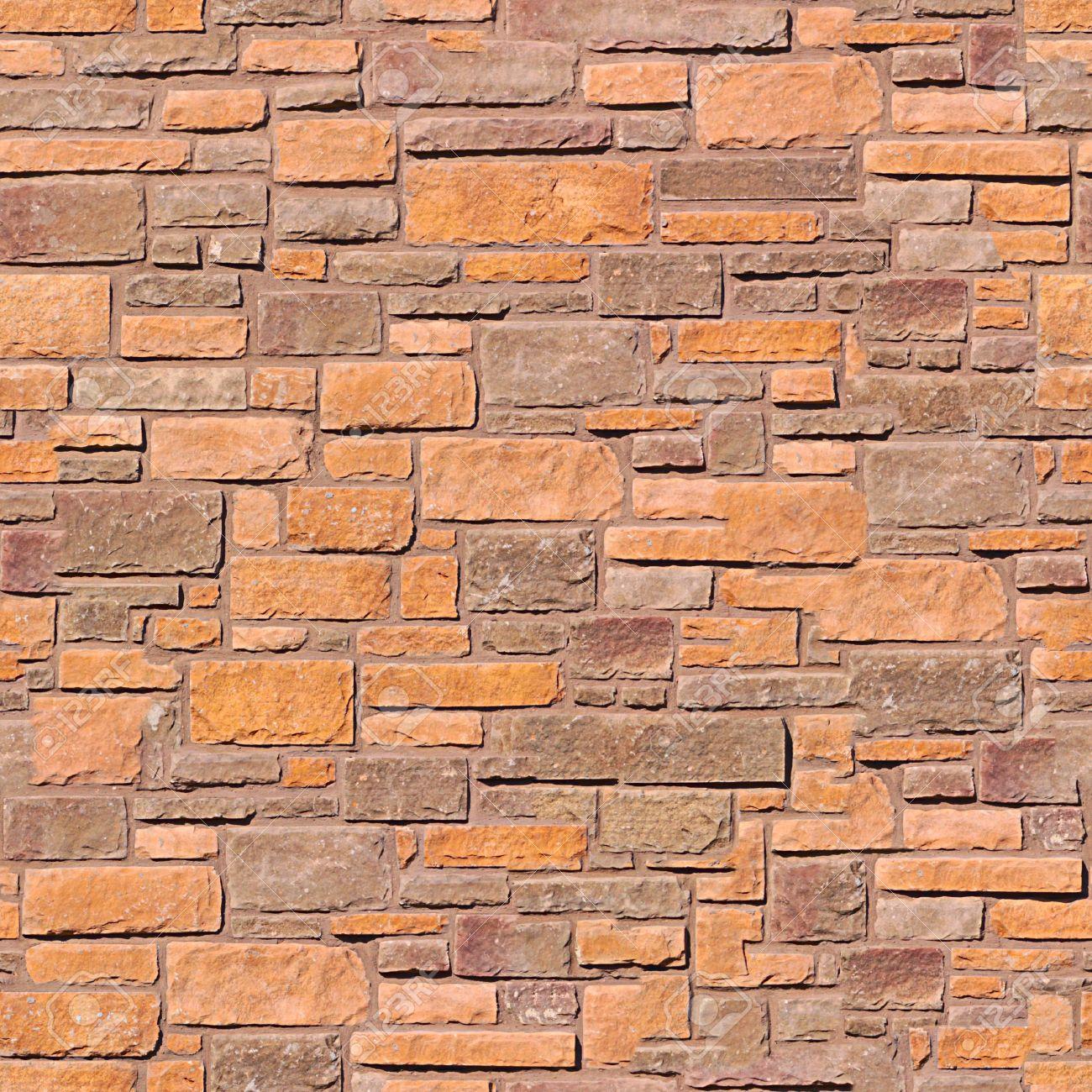Brick wall seamless pattern. Stock Photo - 5444312
