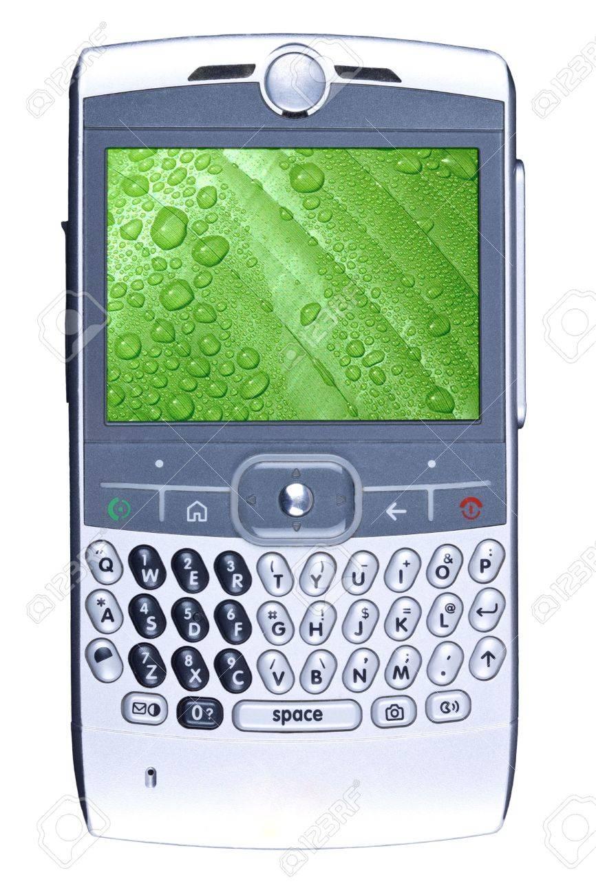 Smartphone isolated on white. Stock Photo - 6016658