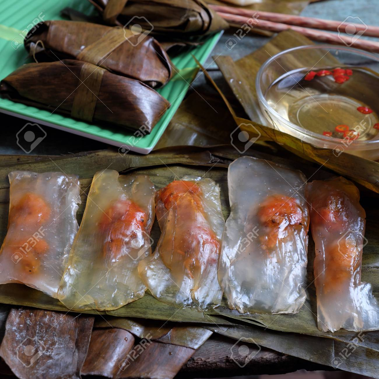 Vietnamese Food A Special Street Food From Hue Cuisine Make Stock Photo Picture And Royalty Free Image Image 50109930
