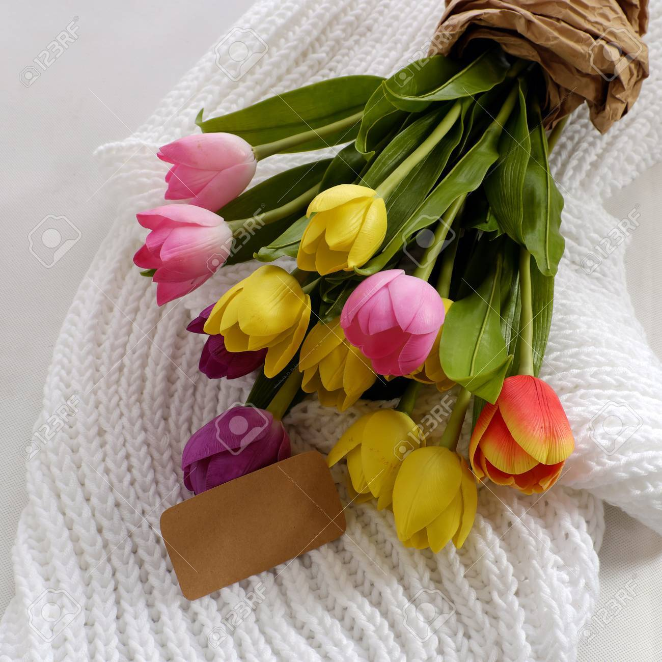 Happy Mother Day With Meaningful Handmade Gift Include Knitted ...