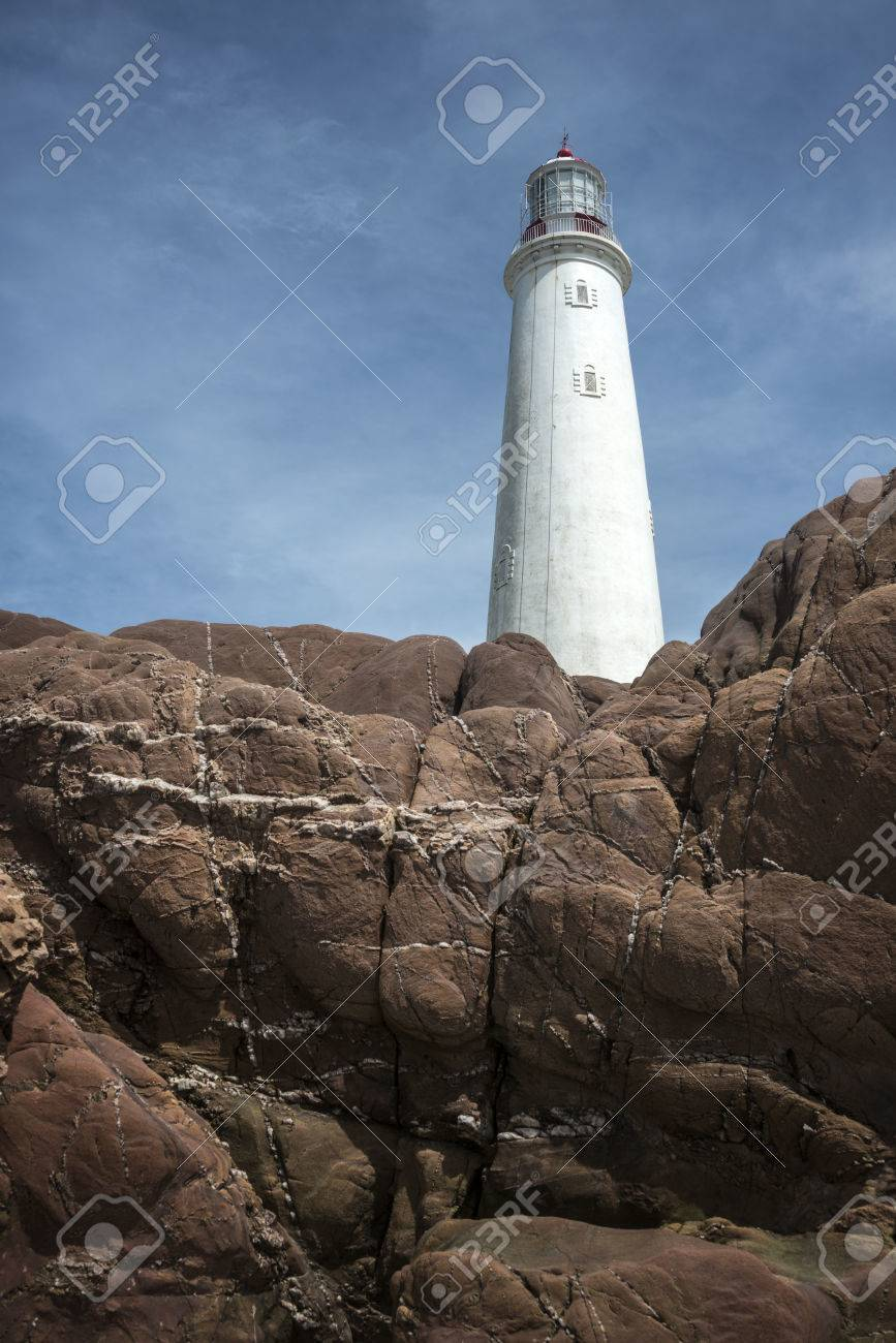 La Paloma lighthouse, Rocha province, Uruguay, 1874. Active. The area was declared a national monument in 1976 - 82939879