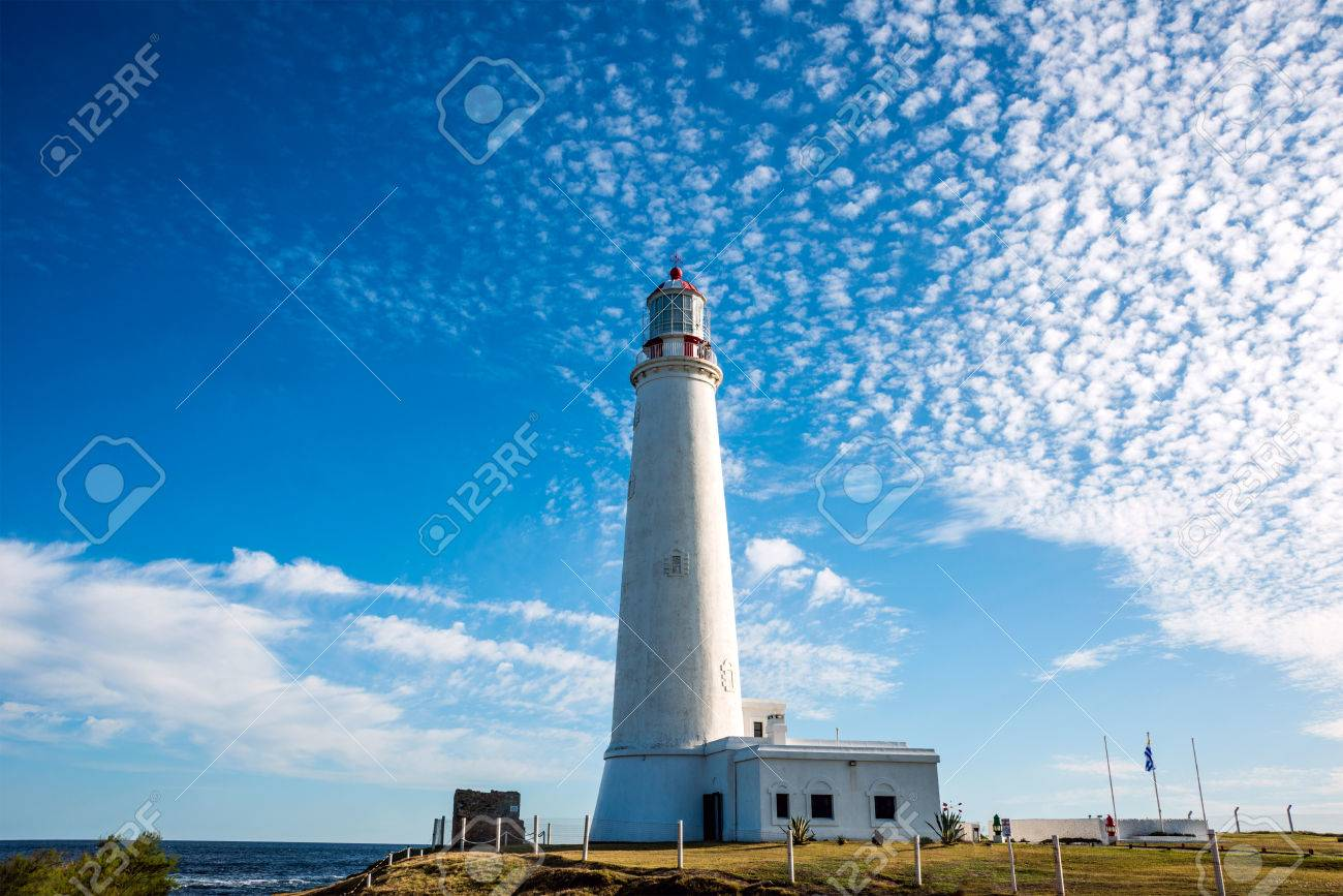 La Paloma lighthouse Uruguay, 1874. Active. The area was declared a national monument in 1976 - 83604161