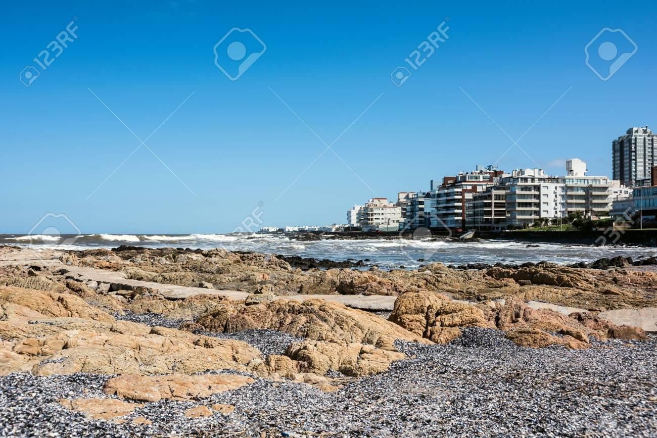 Peninsula area of Punta del Este, Maldonado, Uruguay - 90233925