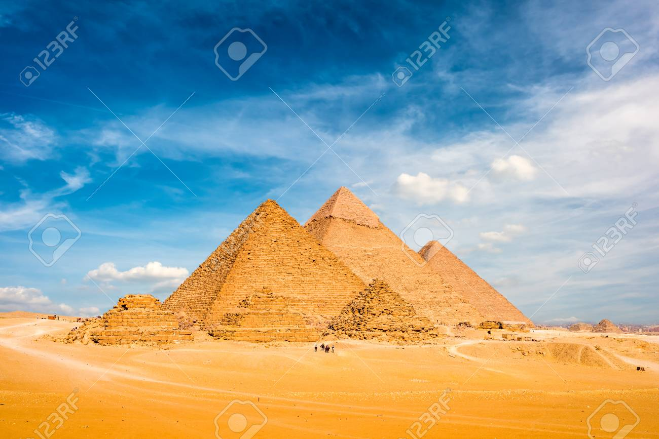 The Great Pyramids of Giza, Egypt - 92156781