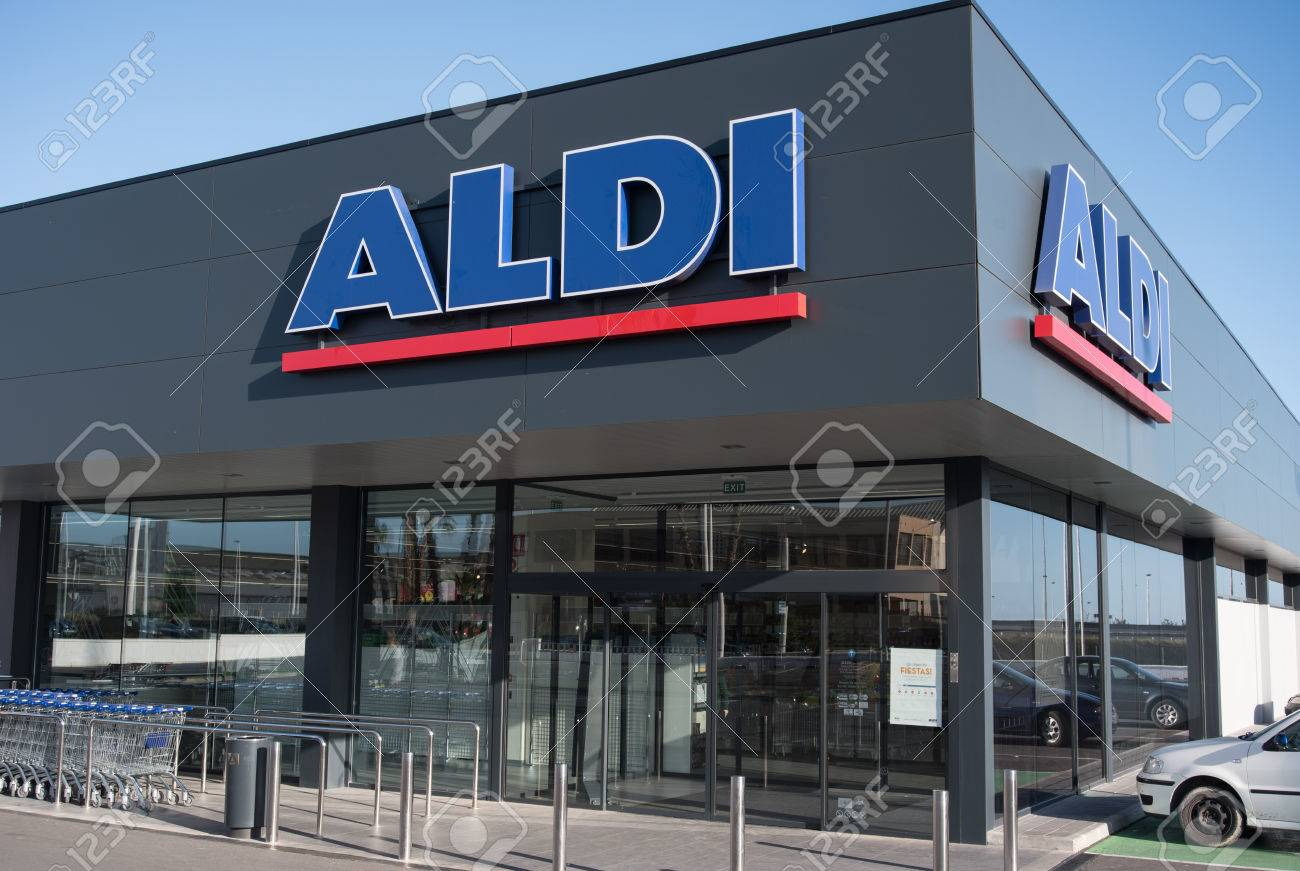 Very new discounter aldi shop with new symbol and sign in spain very new discounter aldi shop with new symbol and sign in spain stock photo 39323932 biocorpaavc