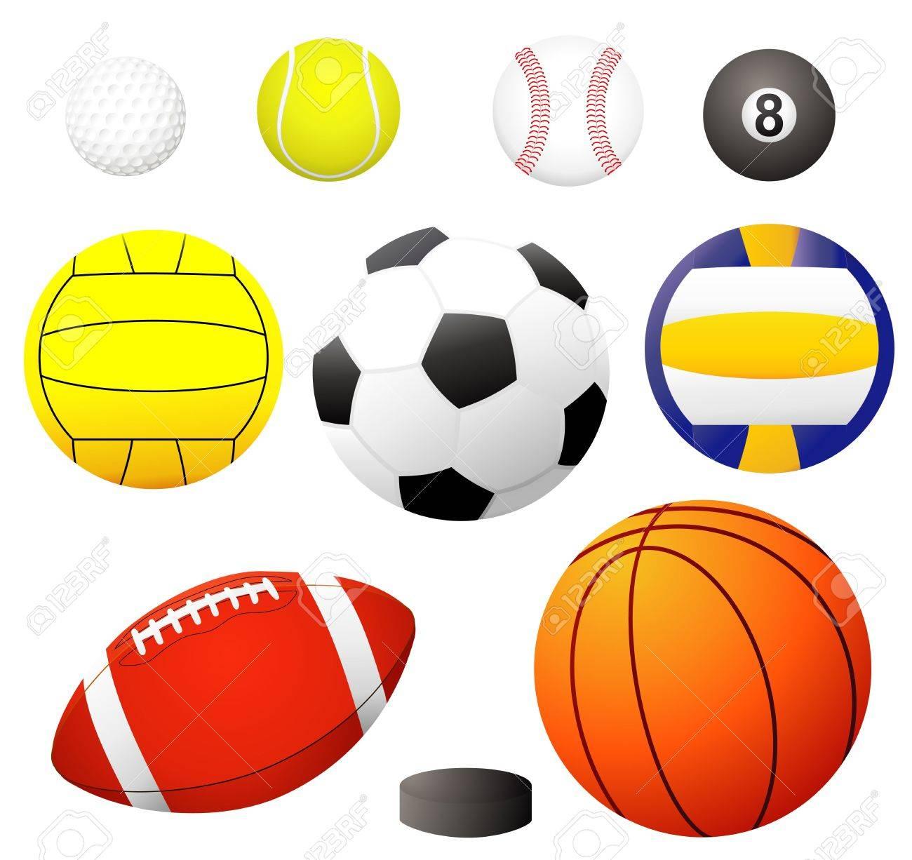 Balls - illustration! Stock Photo - 395153