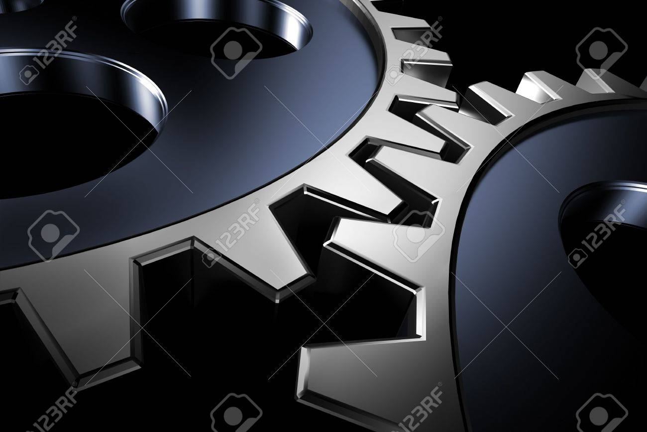 Connection concept. 3d gears. hi res rendering. Stock Photo - 3906856