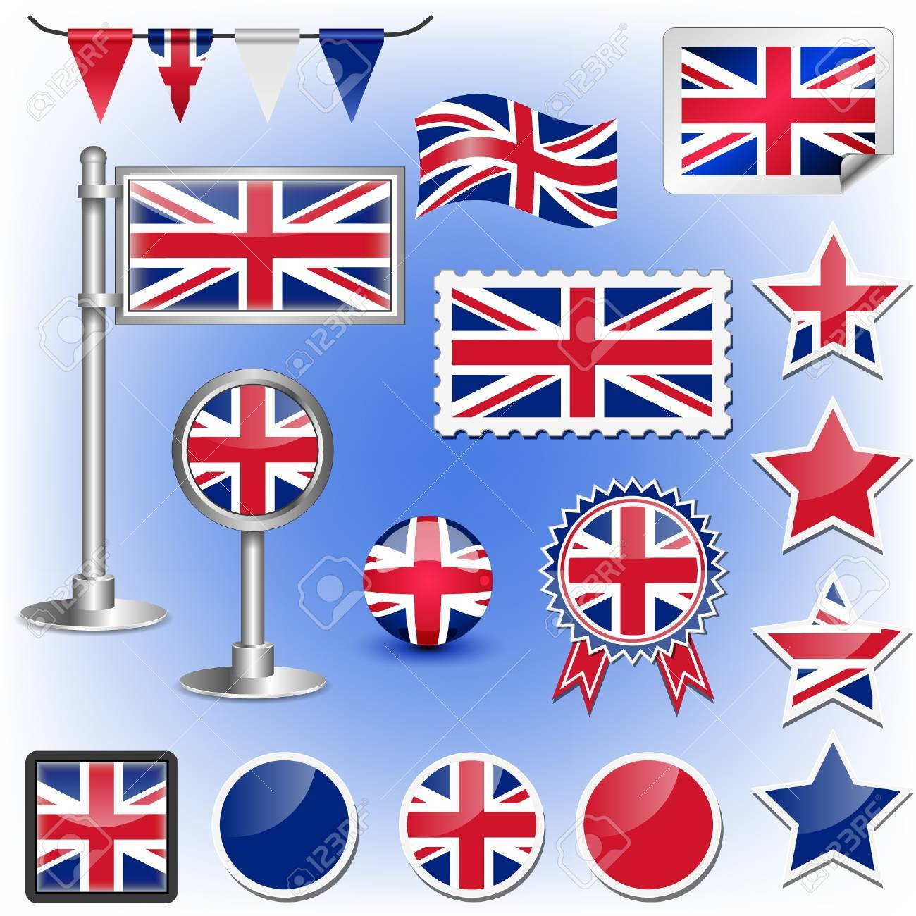 british flag Stock Vector - 11660023