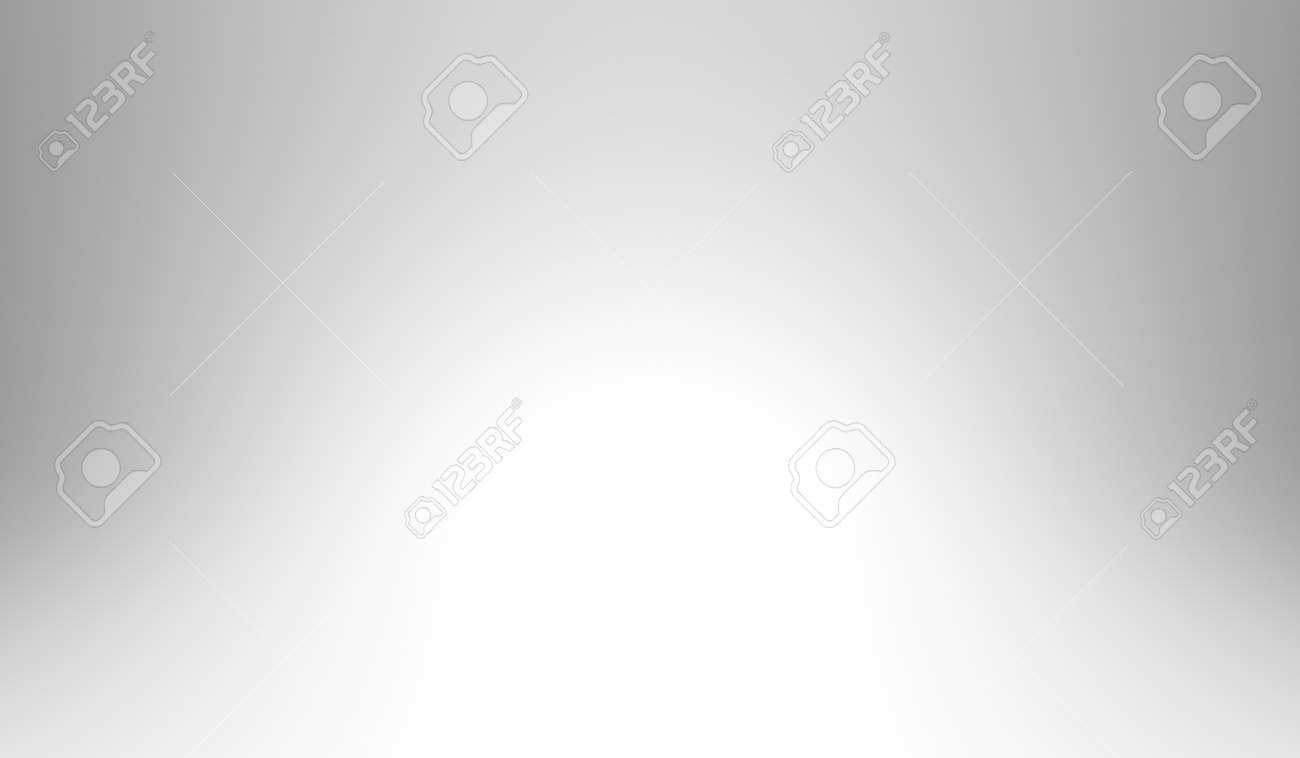 White and gray abstract color background. 3D rendering. Illustration, technology, business, industry, medical, science, innovation - 157091880