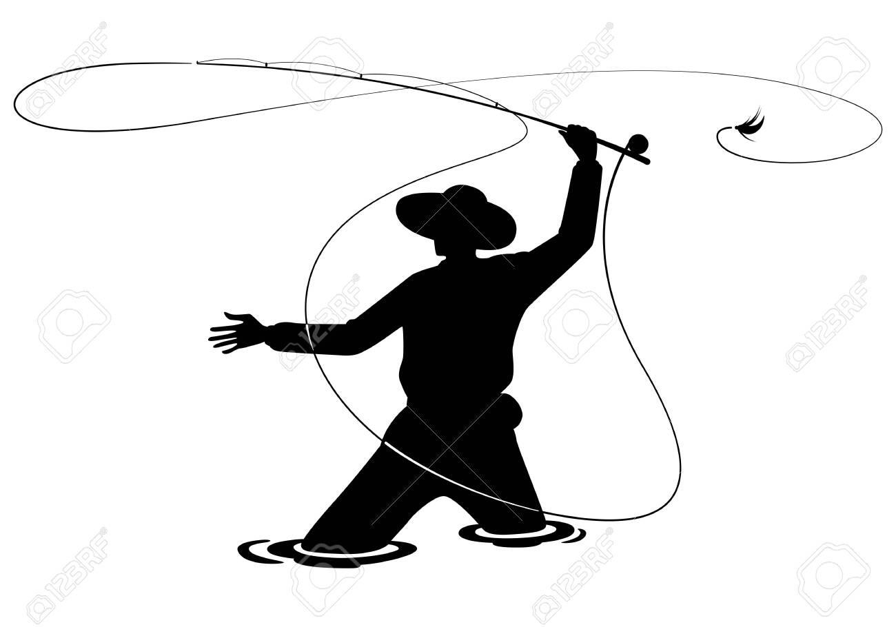 graphic fisherman - 132210283