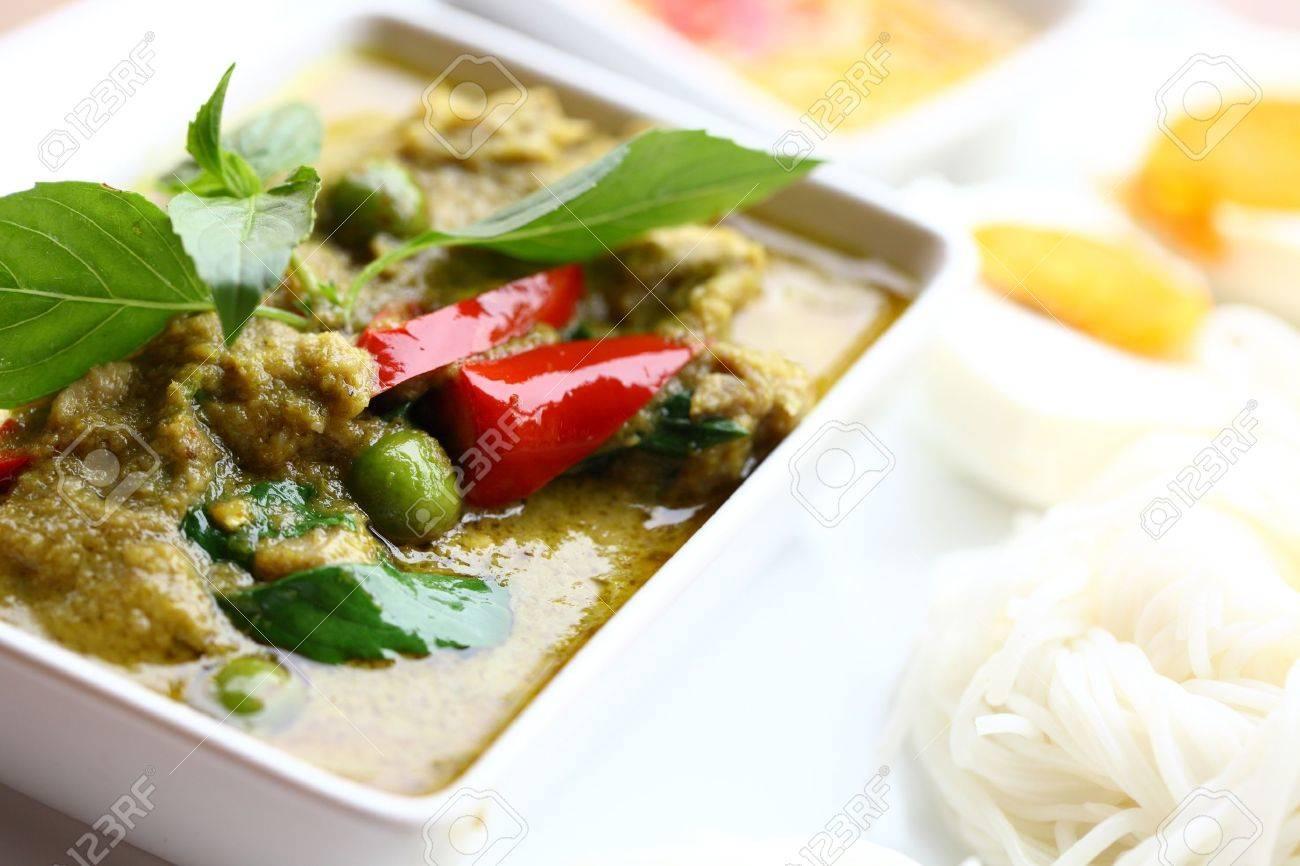 Thai chicken curry Stock Photo - 9338784