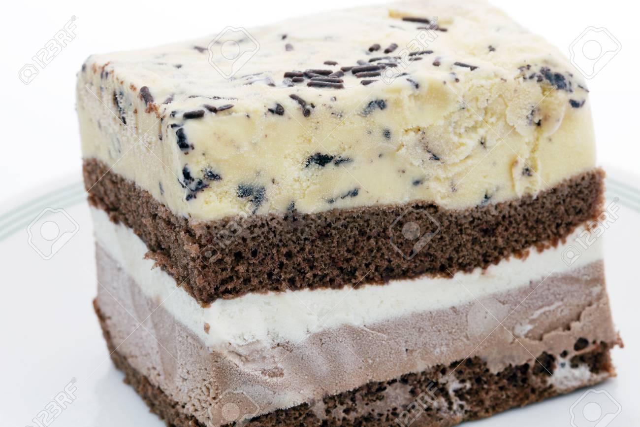 Ice cream cookie and cream cake Stock Photo - 13169537